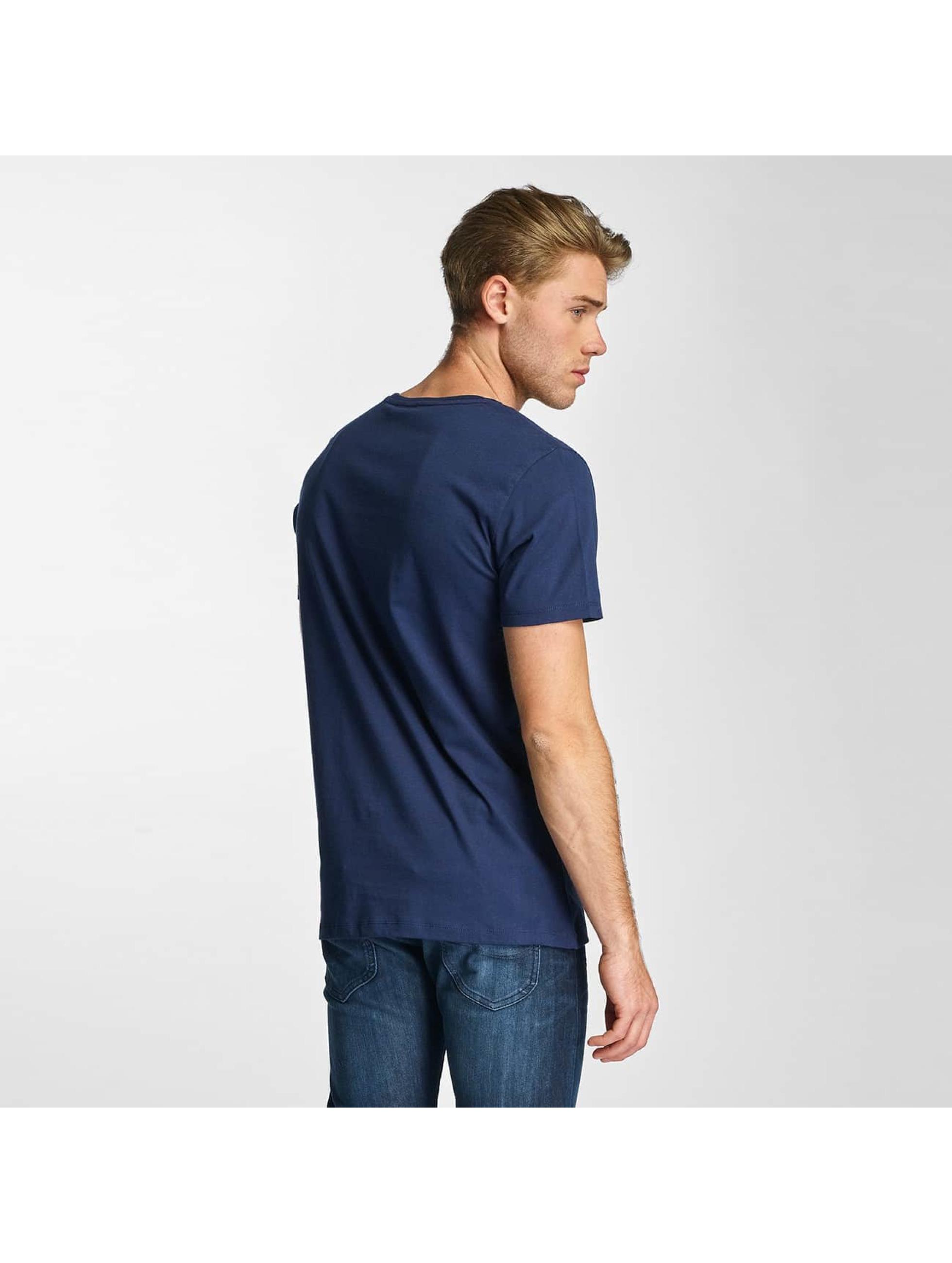 Lee T-skjorter Logo blå