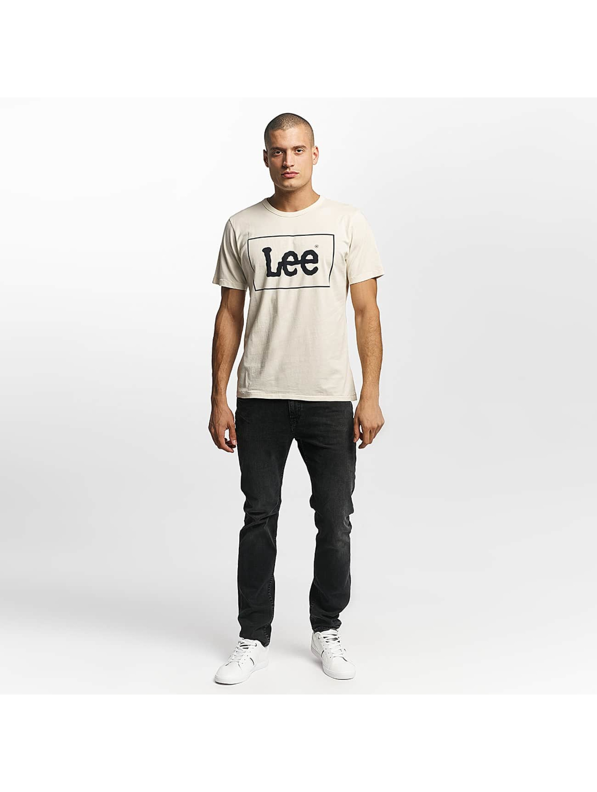Lee T-skjorter Lee hvit