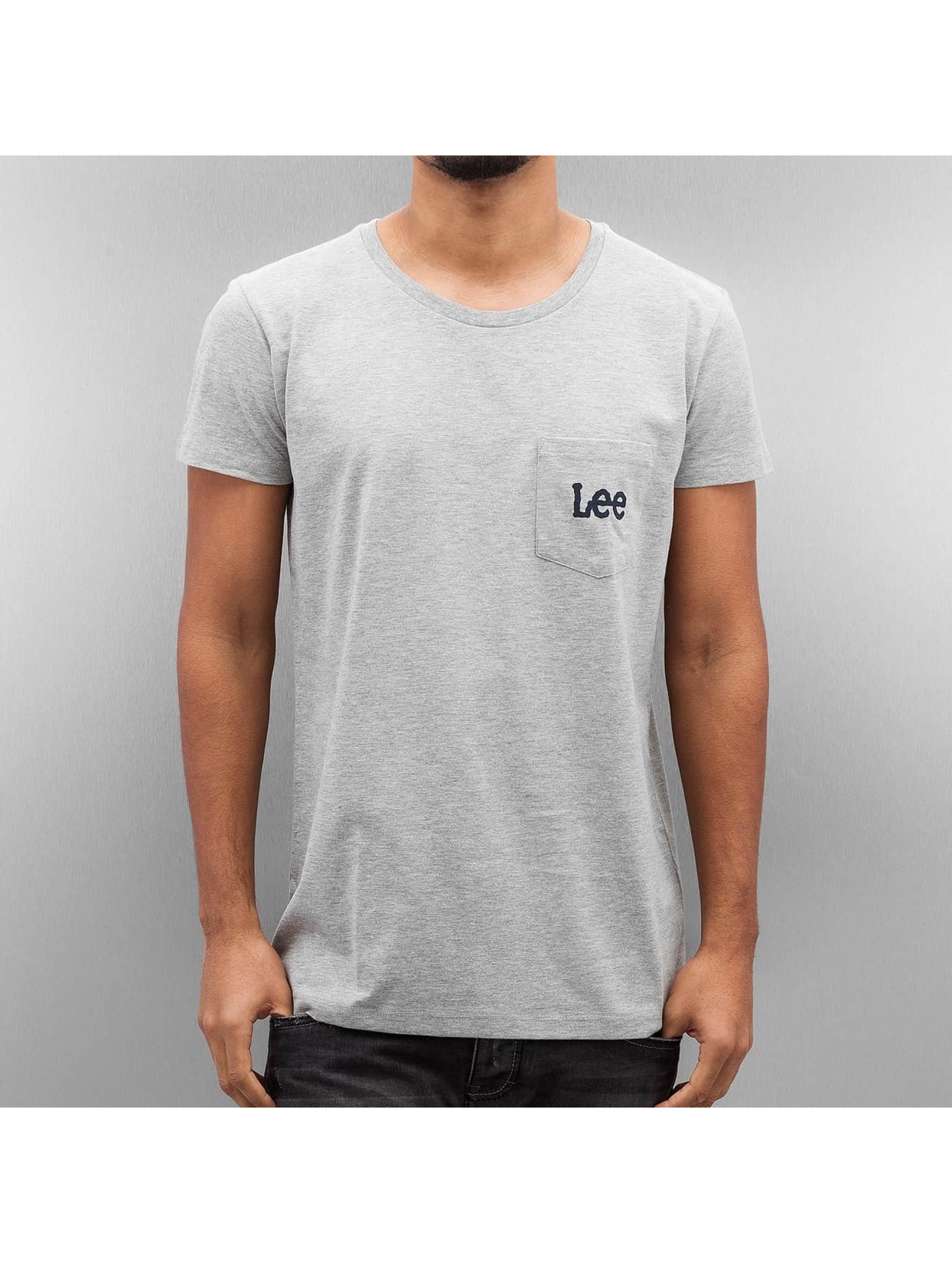 Lee Tričká Pocket šedá