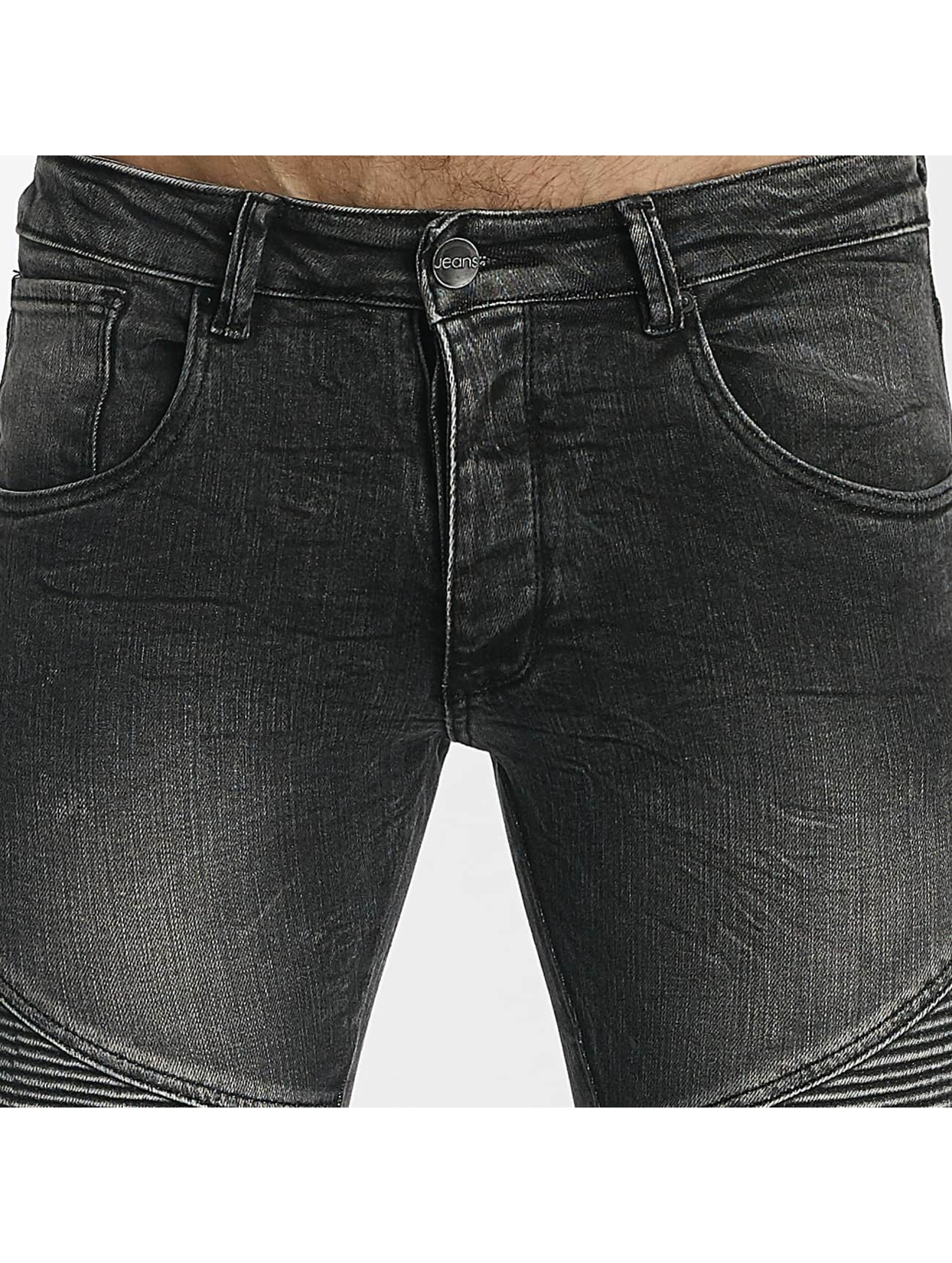 Leg Kings Úzke/Streč Zipper šedá