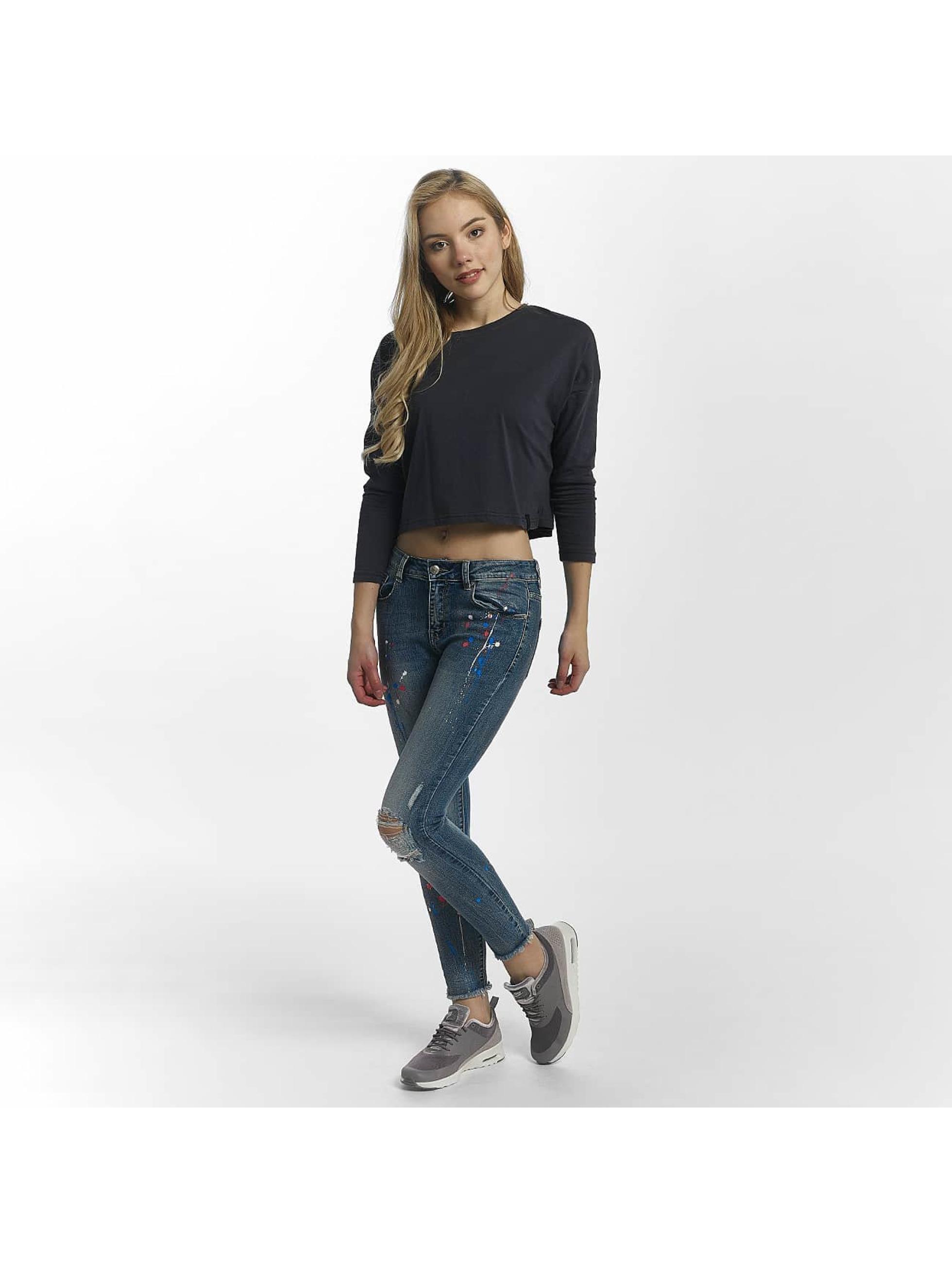 Leg Kings Úzke/Streč Leg Kings Jeans modrá