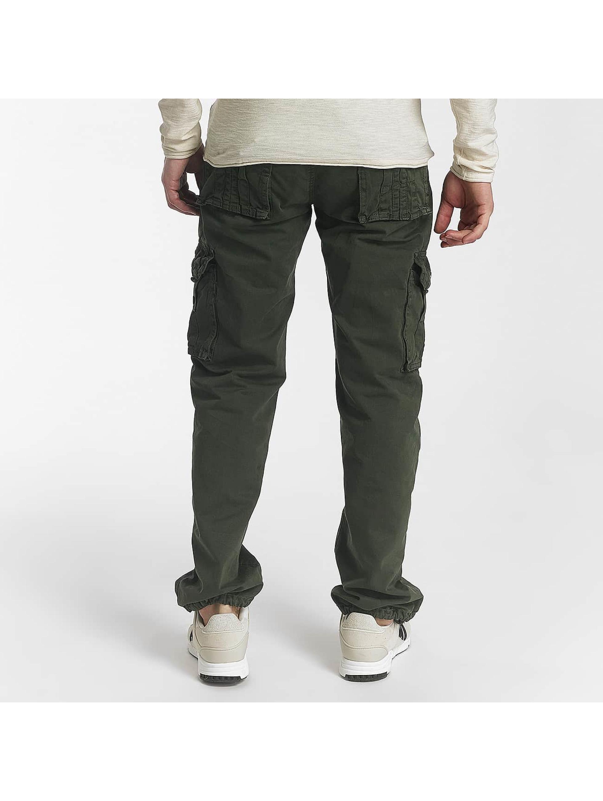 Leg Kings Джинсы-трубы Bags зеленый