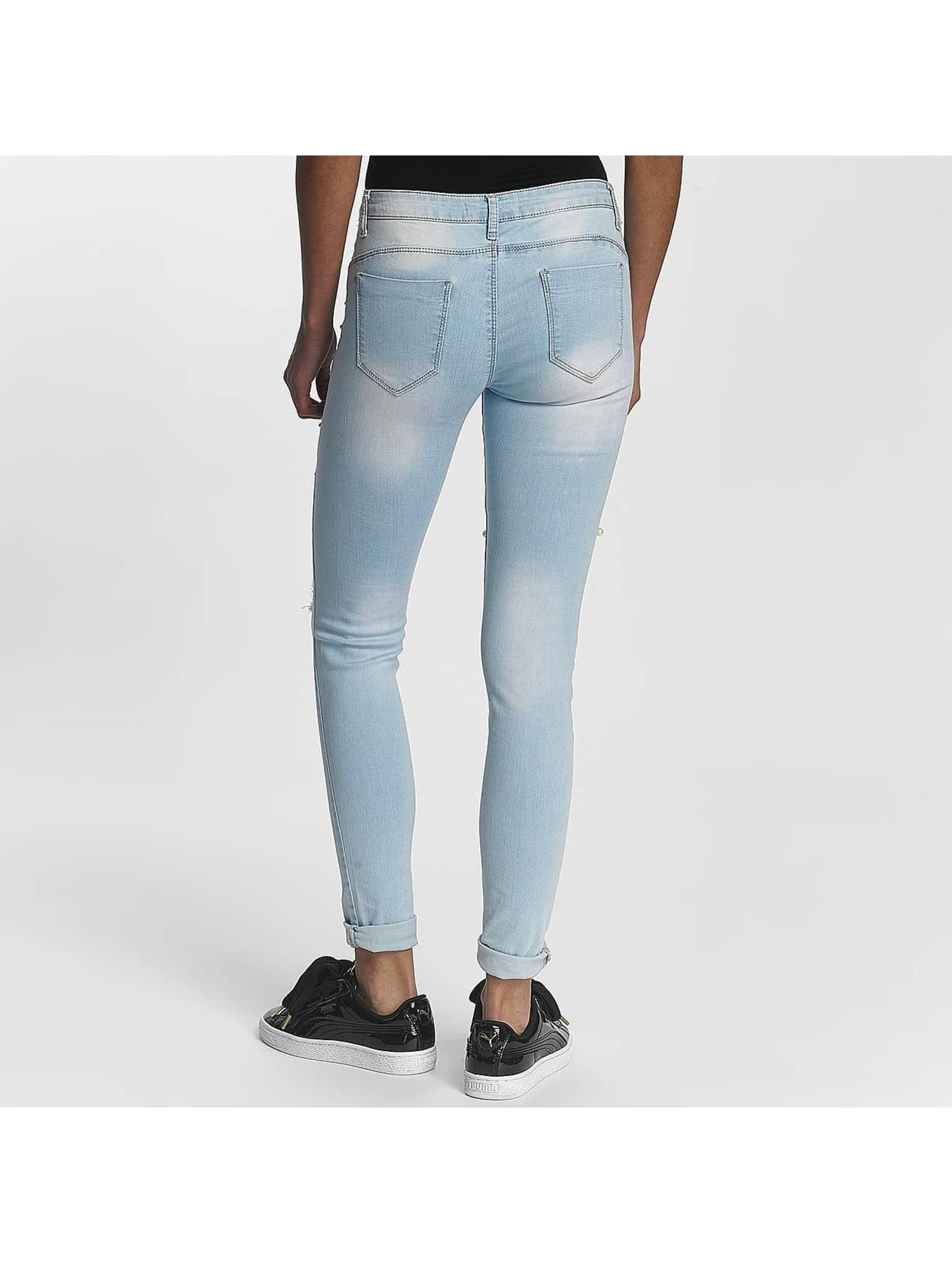 Leg Kings Облегающие джинсы Lantis синий