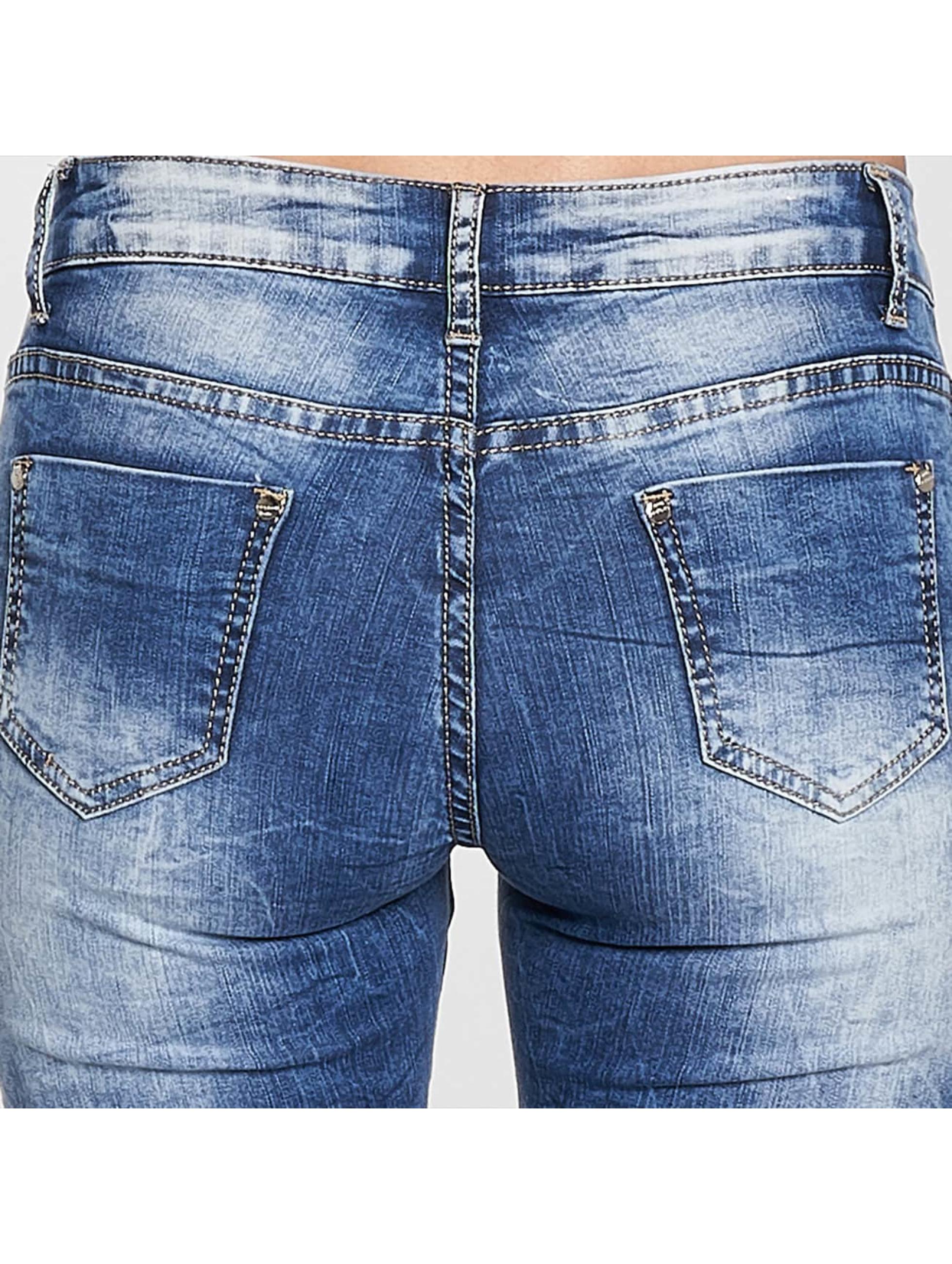 Leg Kings Облегающие джинсы Maatana синий