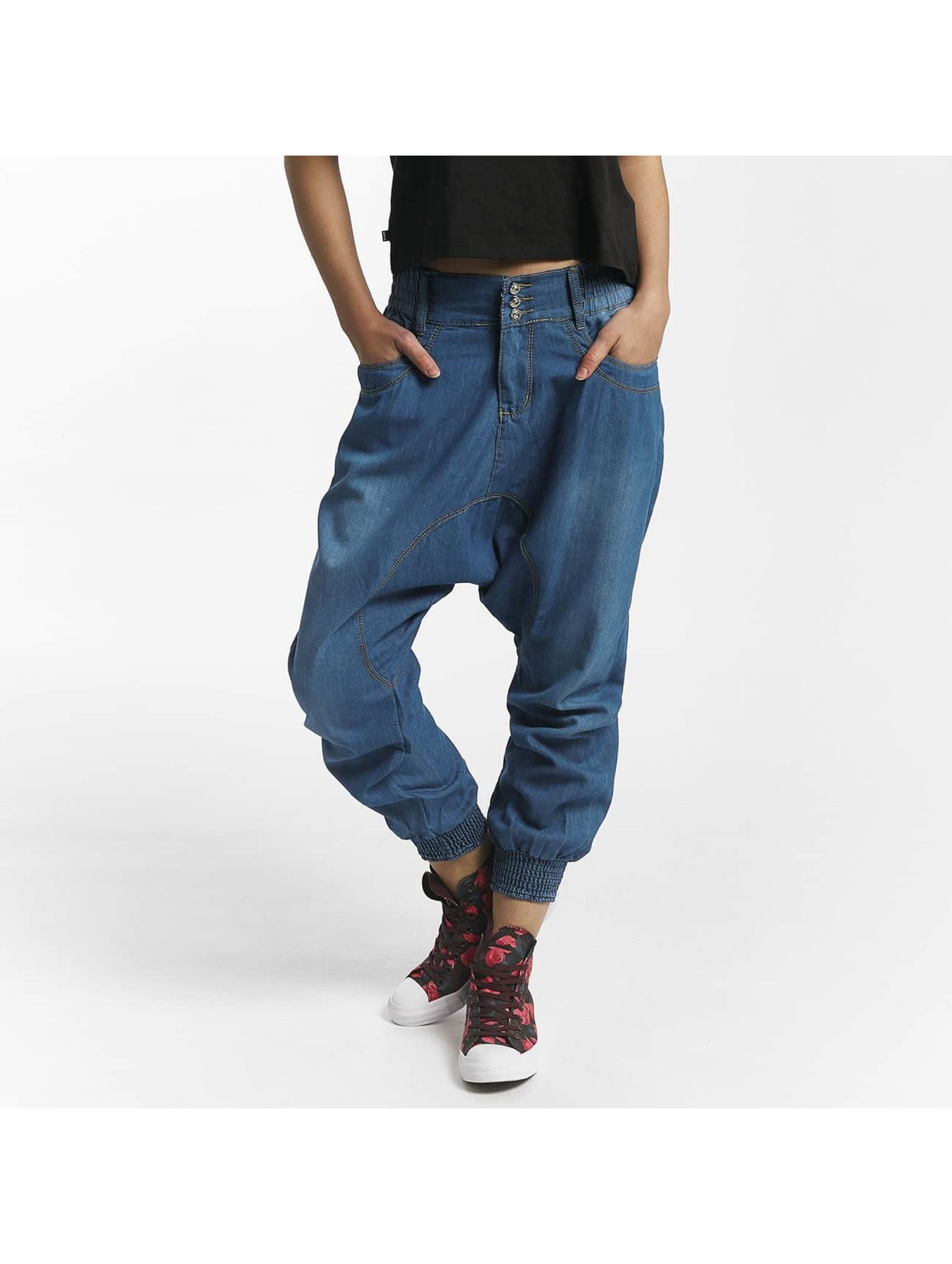 Leg Kings Jean carotte antifit Modelo bleu