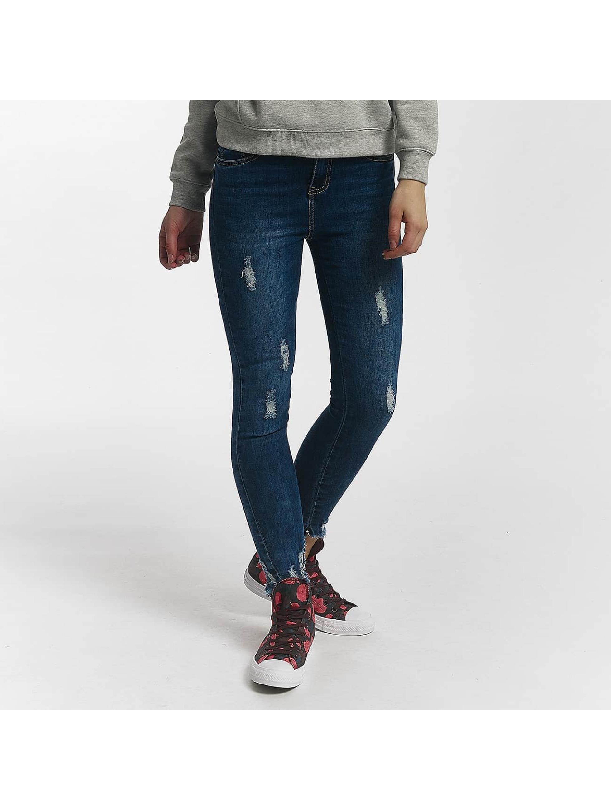 Leg Kings Jean skinny Misses RT bleu