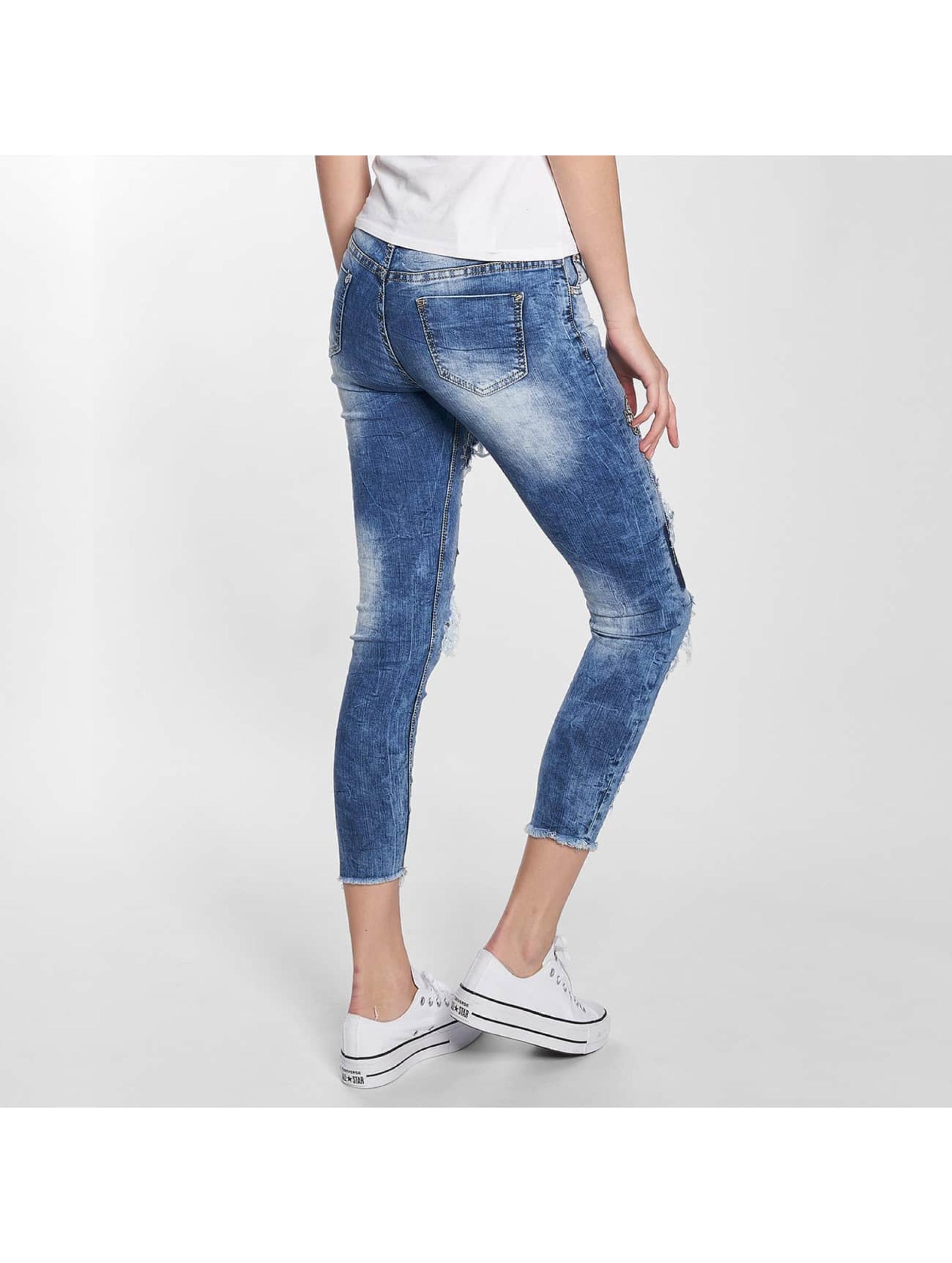 Leg Kings Jean skinny Maatana bleu