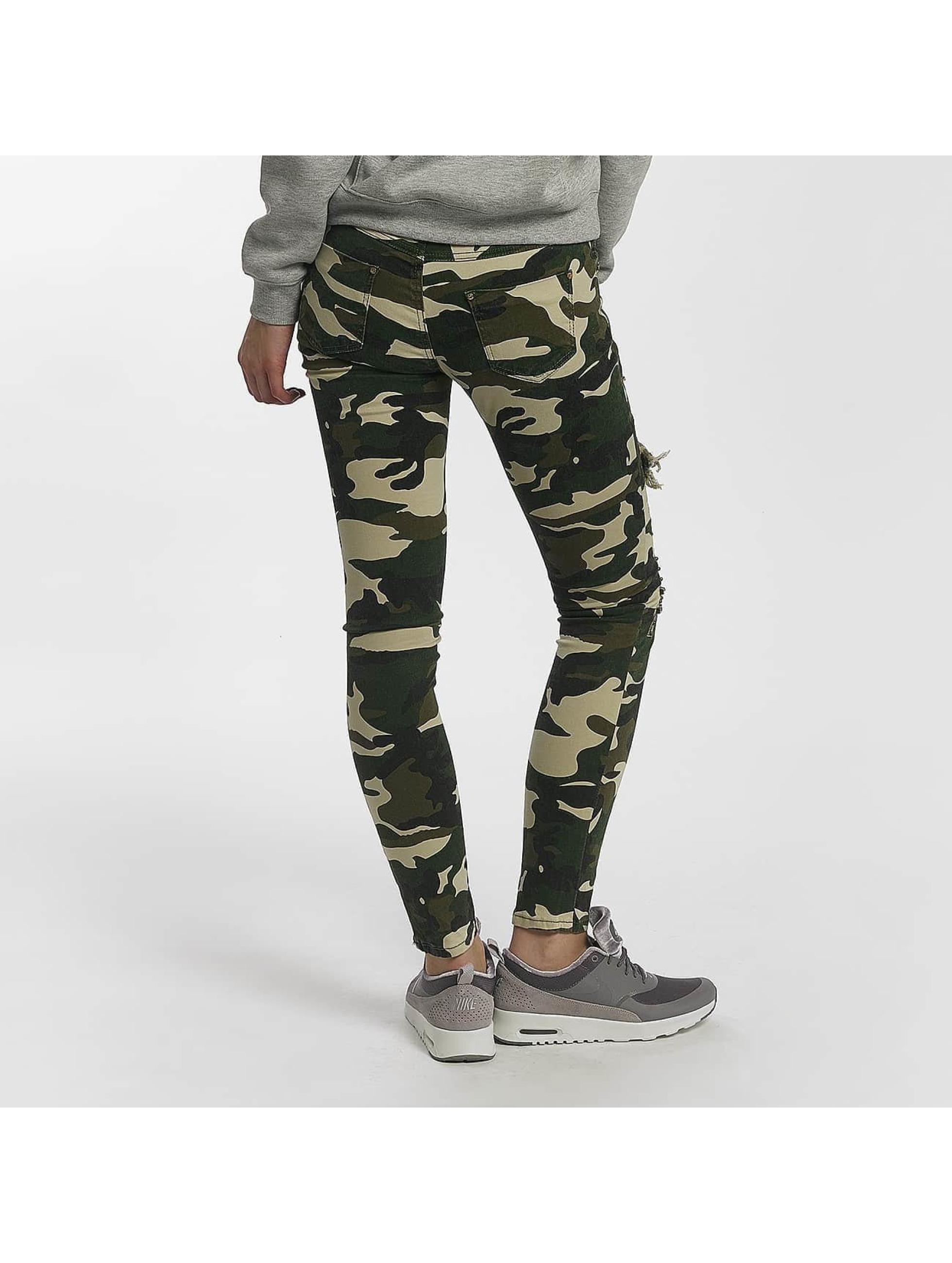 Leg Kings Jean skinny Deep Forest camouflage