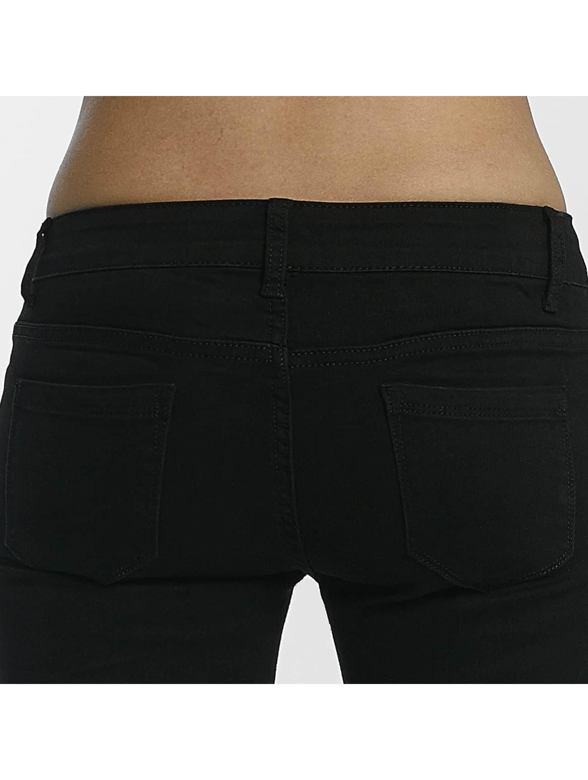 Leg Kings Jean skinny Mesh noir
