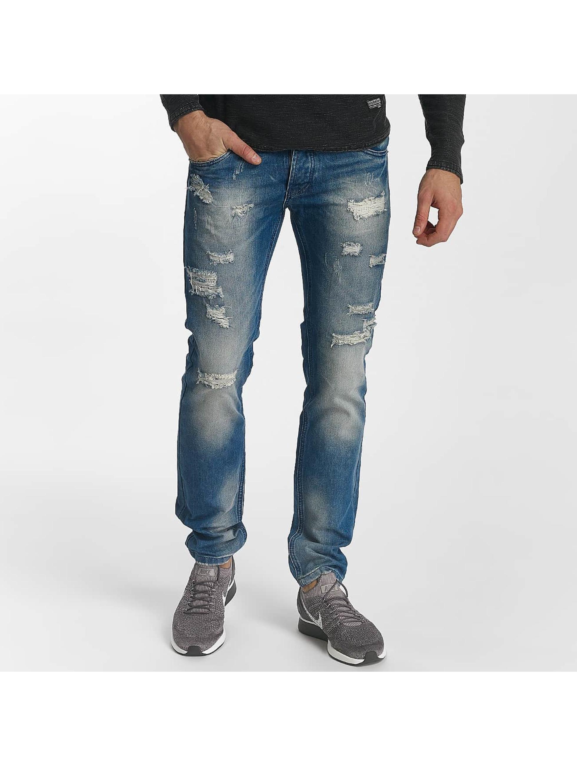 Leg Kings Jean slim Destroyed bleu