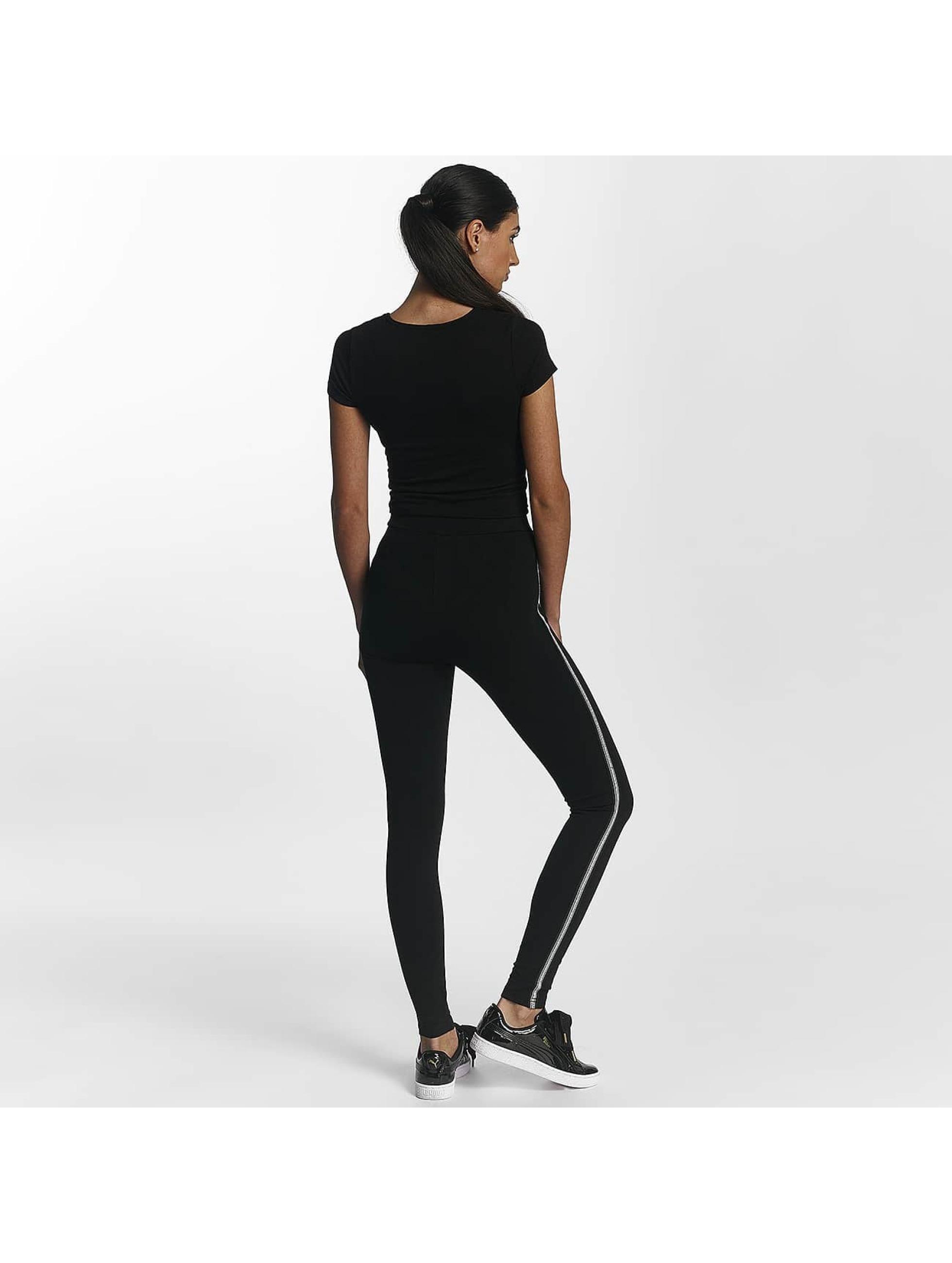 Leg Kings Leggings/Treggings Miss Rose czarny