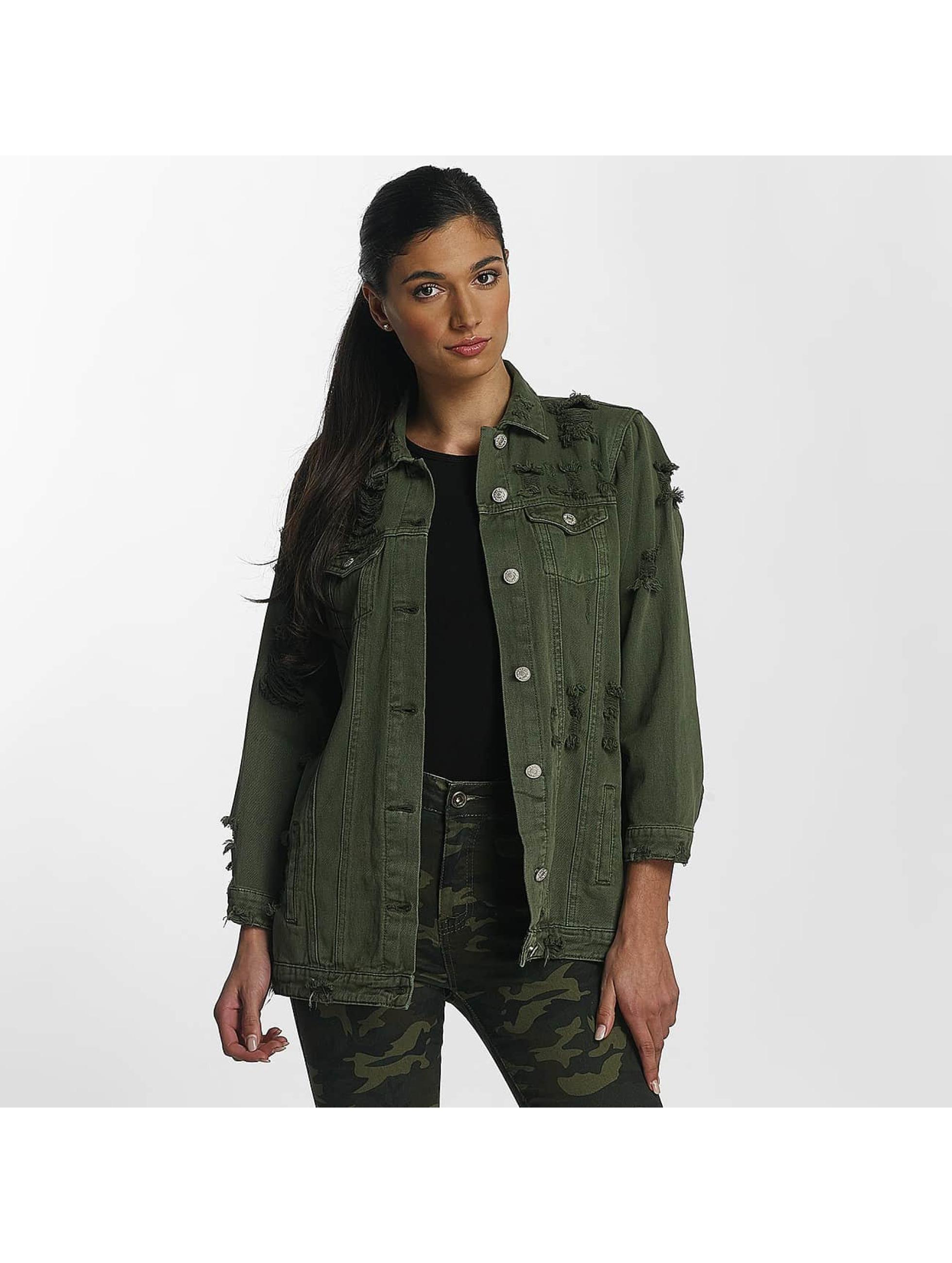 Leg Kings Lightweight Jacket Hello Miss khaki