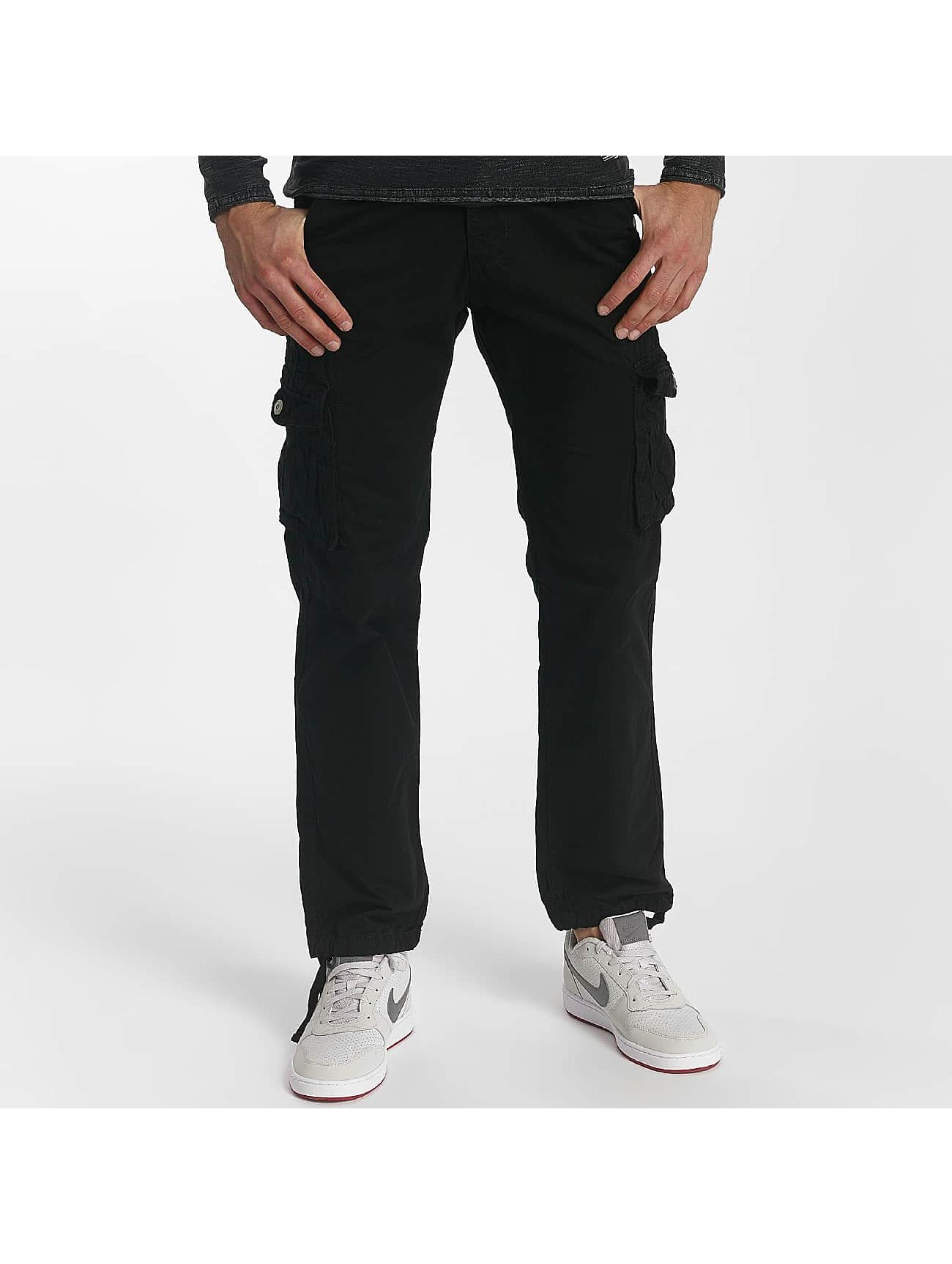 Leg Kings Loose Fit Jeans Bags czarny