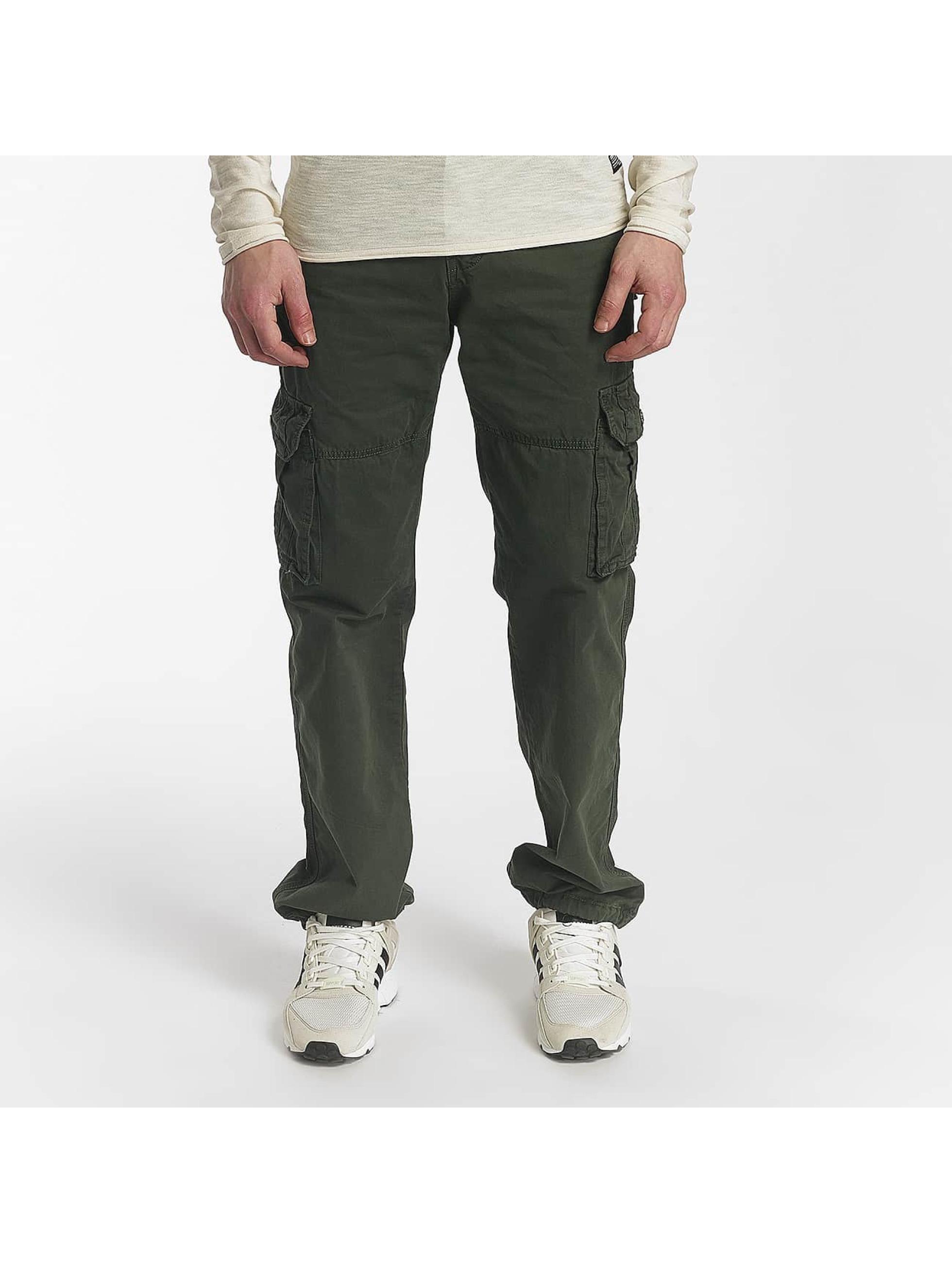 Leg Kings Loose Fit Jeans Bags grün