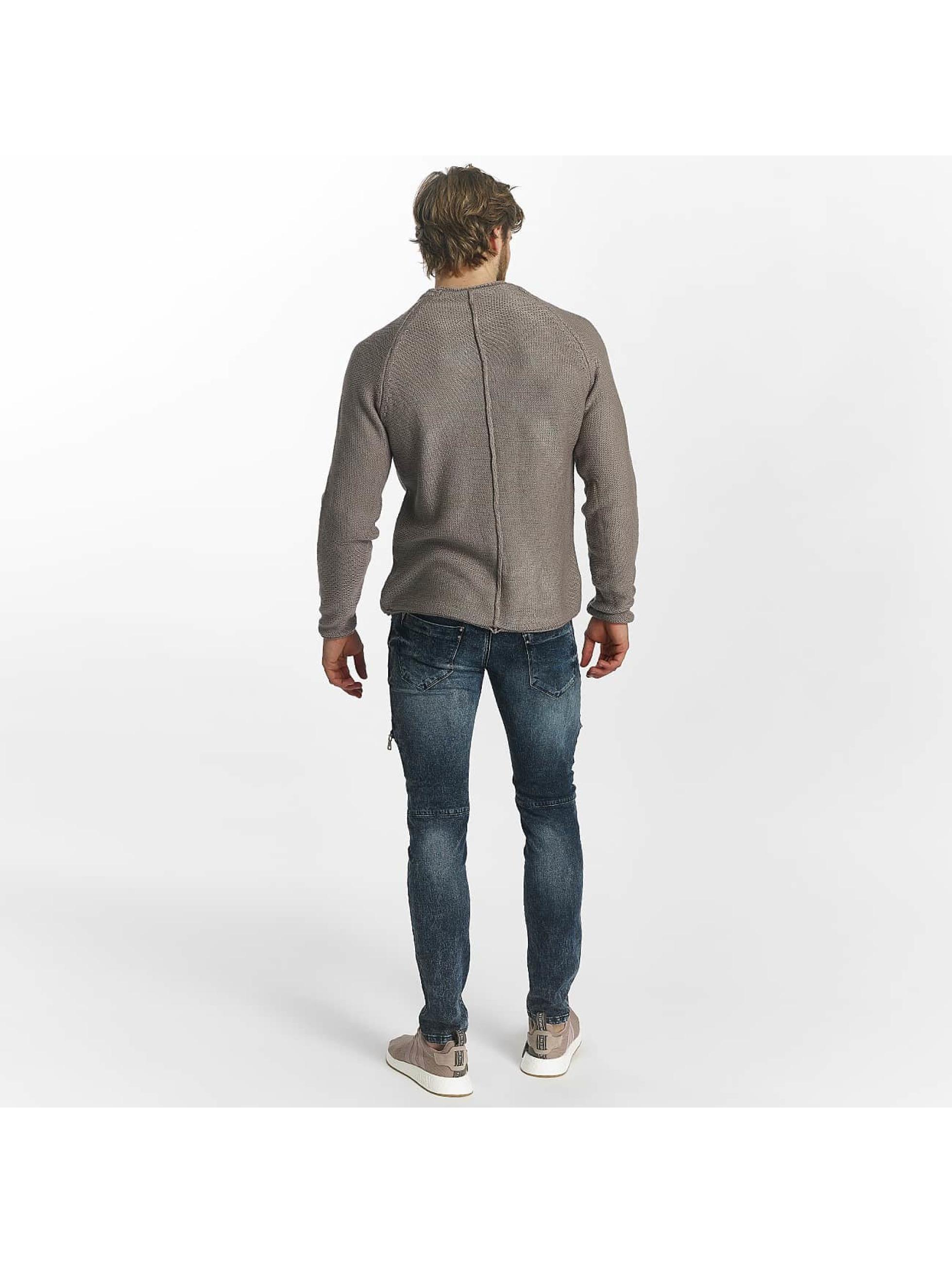 Leg Kings Skinny Jeans Zipper blau