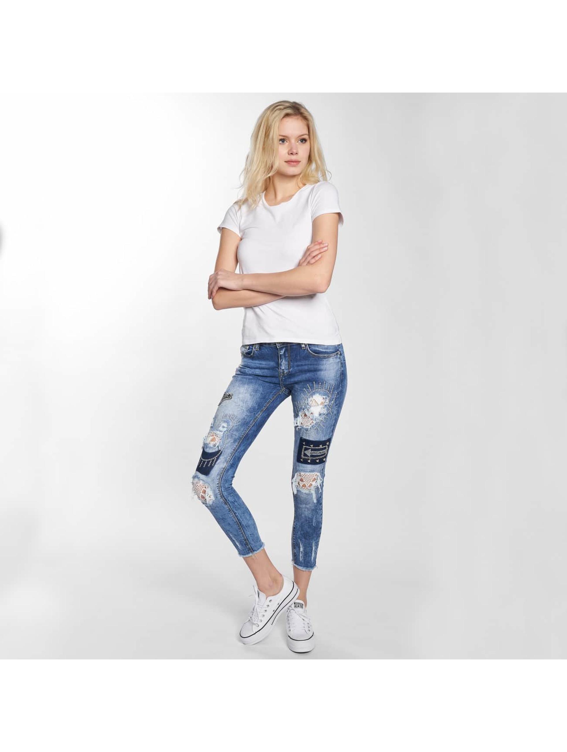 Leg Kings Skinny jeans Maatana blauw