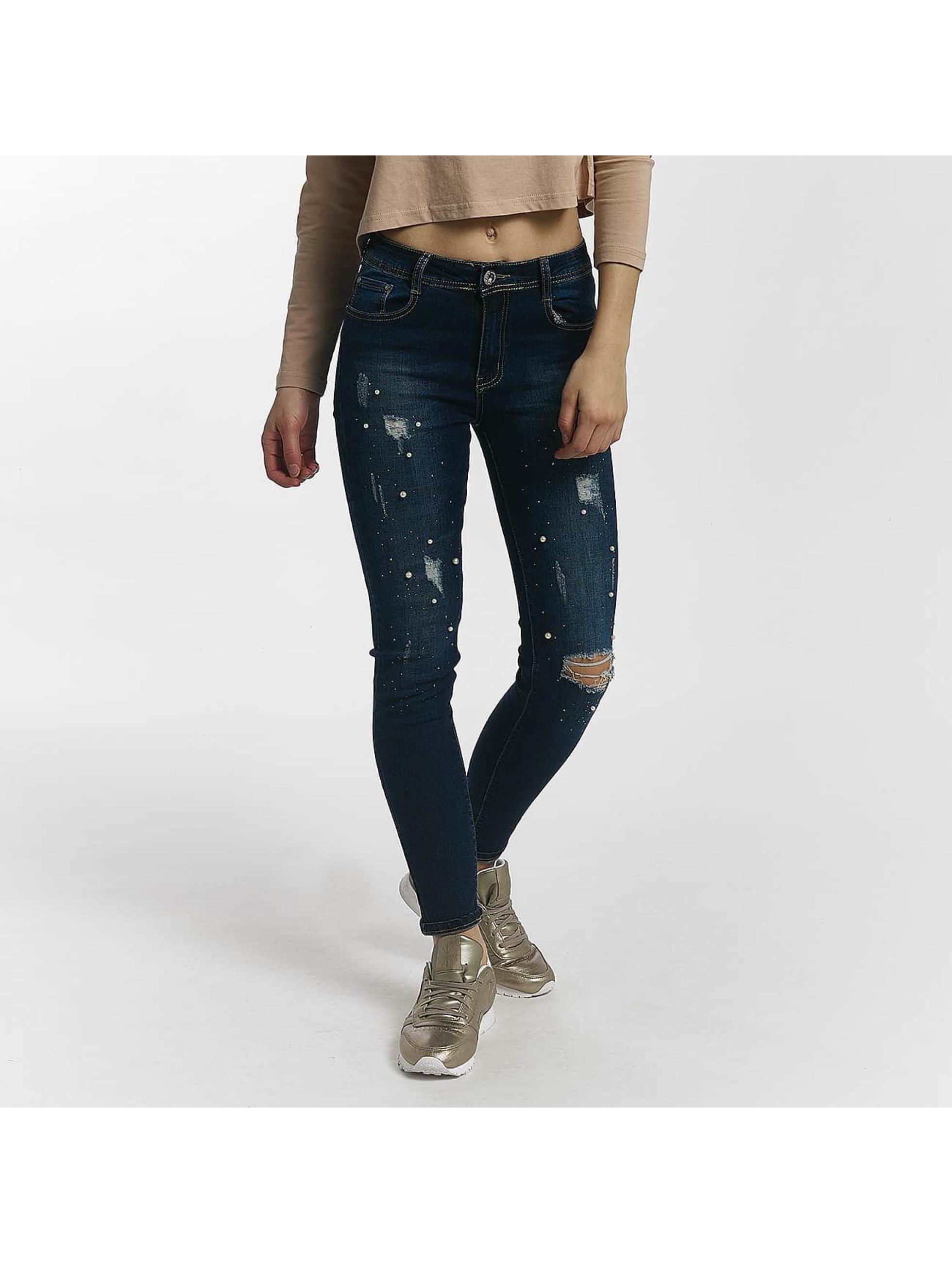 Leg Kings Skinny Jeans D.cherri blue