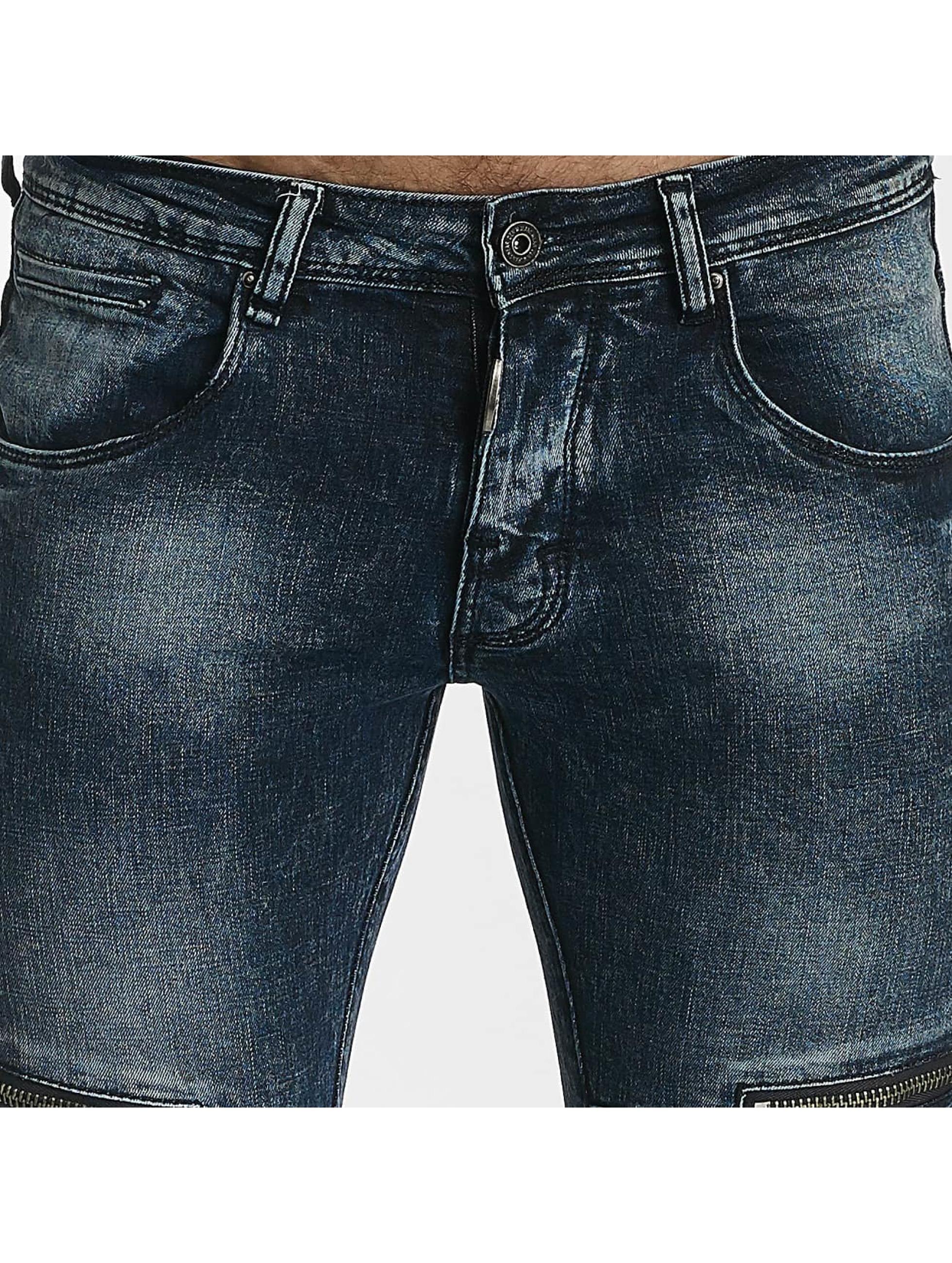 Leg Kings Skinny Jeans Zipper blue