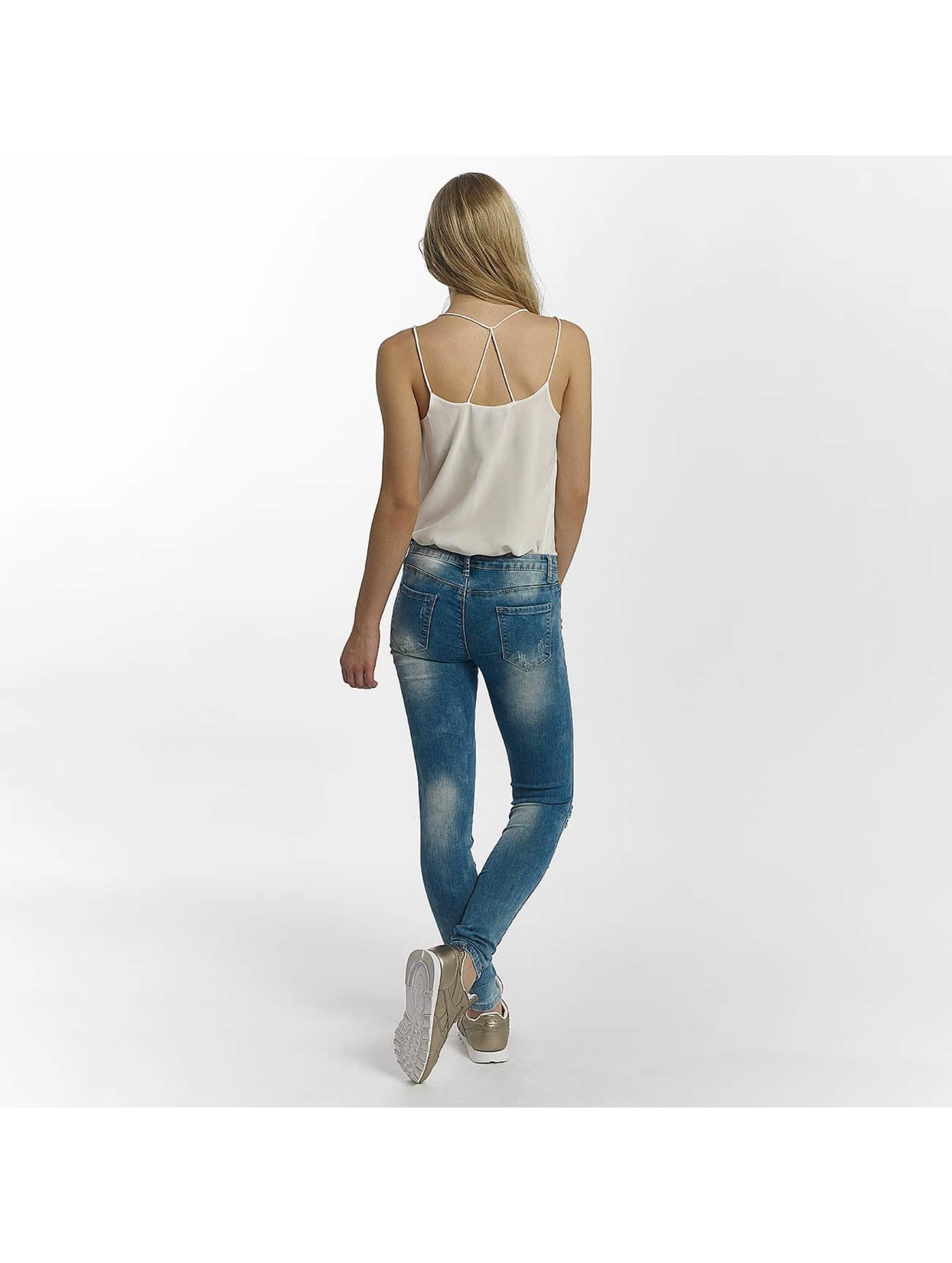 Leg Kings Skinny Jeans Flower blue