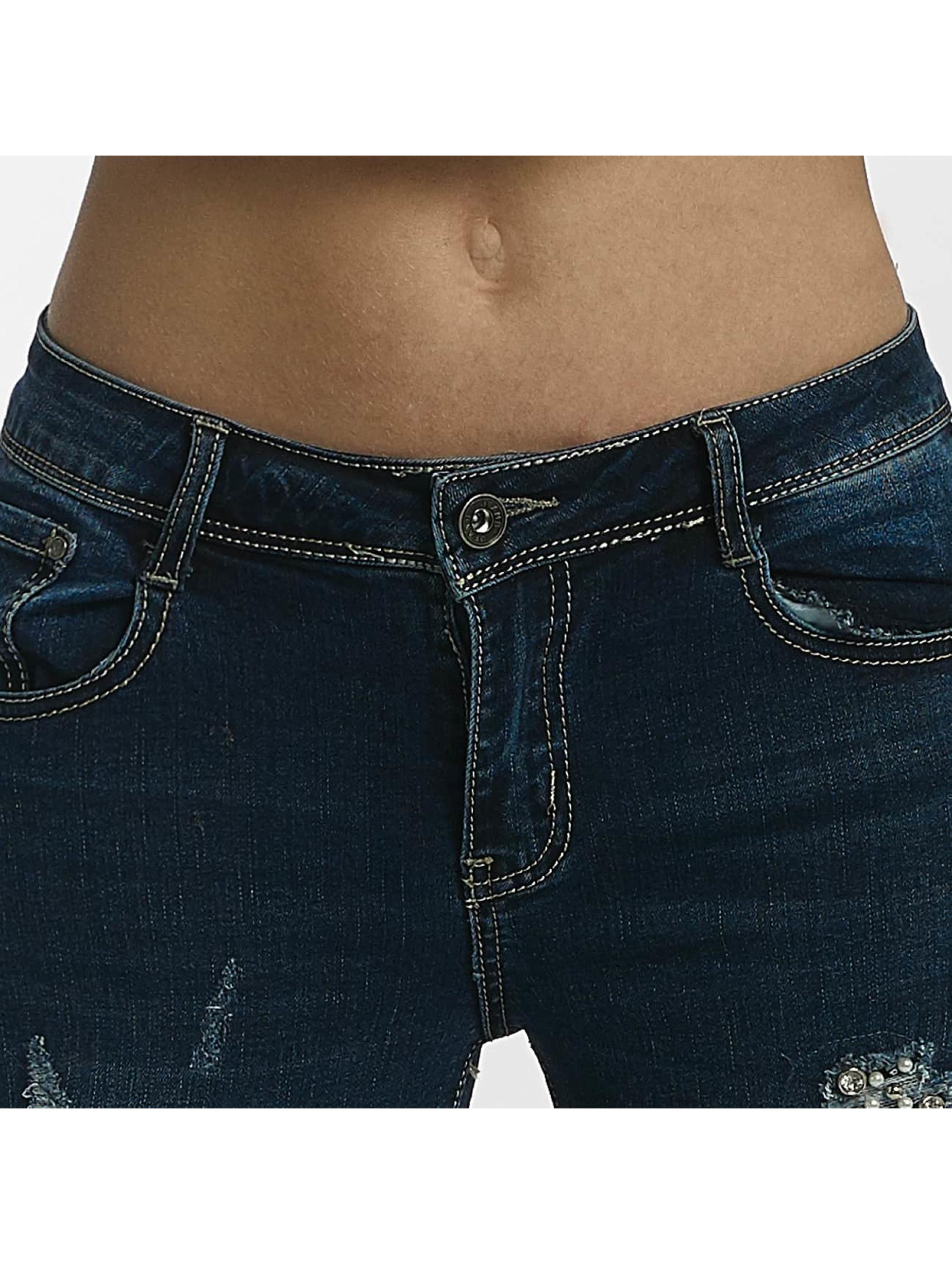 Leg Kings Skinny Jeans Diker niebieski