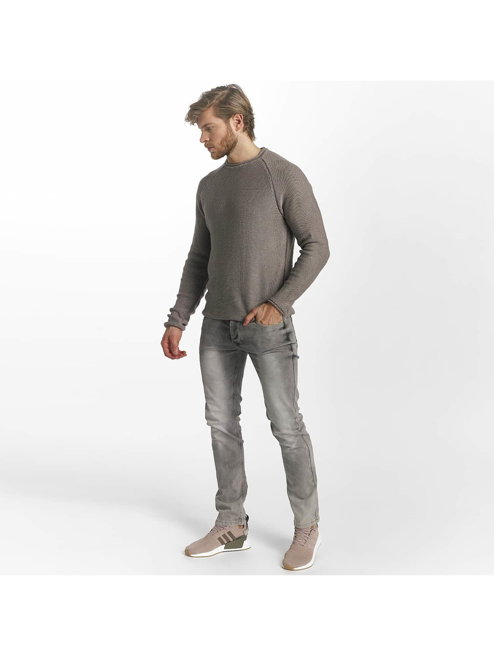 Leg Kings Slim Fit Jeans Washed šedá