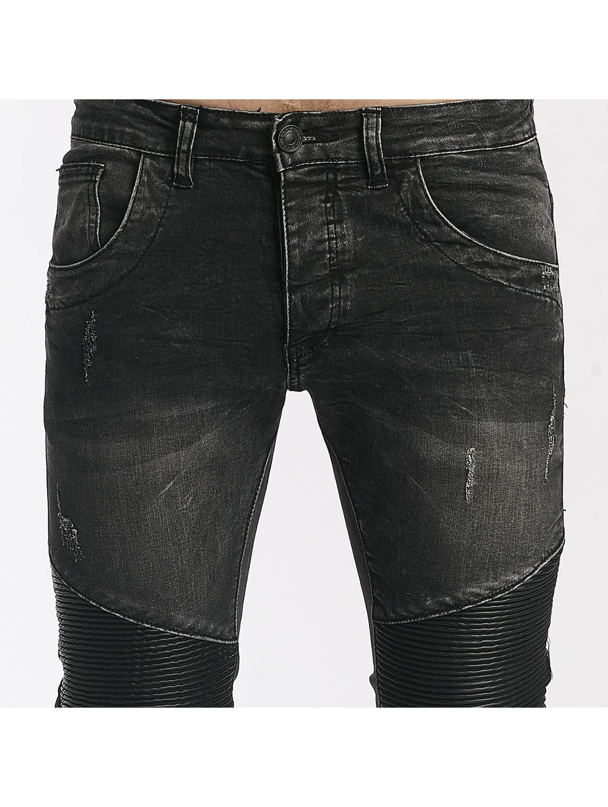 Leg Kings Slim Fit Jeans Enzo grå