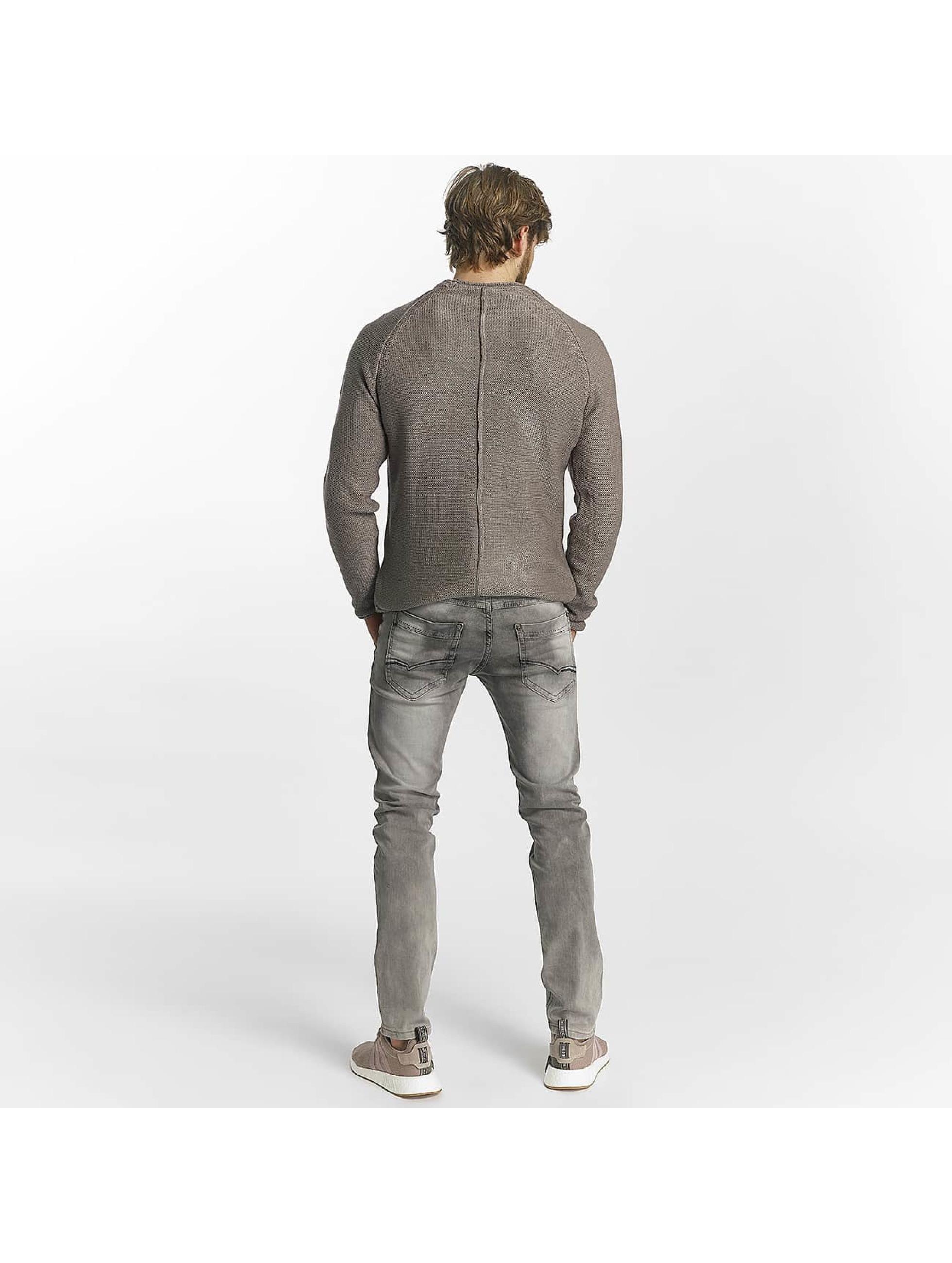 Leg Kings Slim Fit Jeans Washed grau
