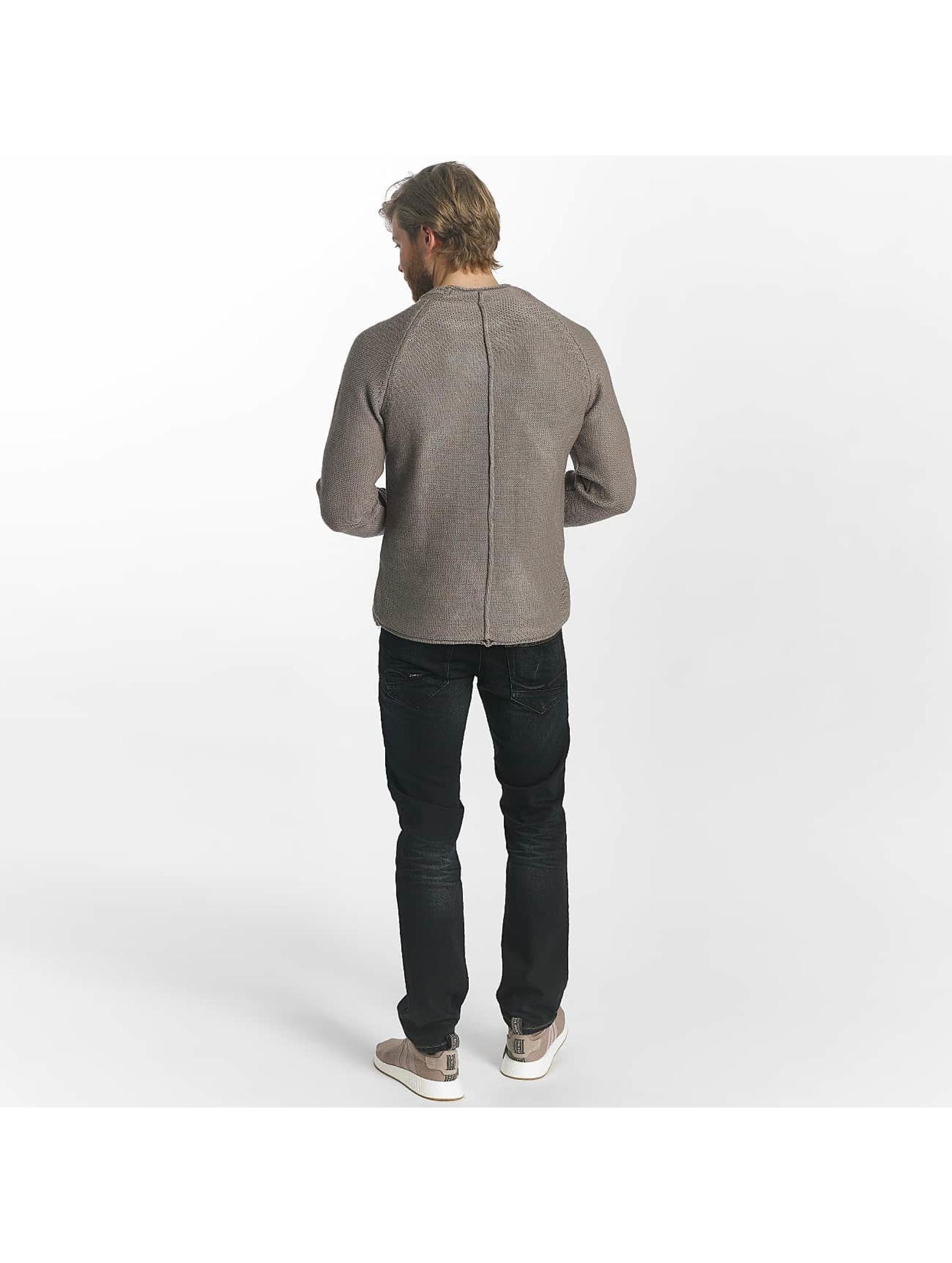 Leg Kings Slim Fit Jeans Washed schwarz