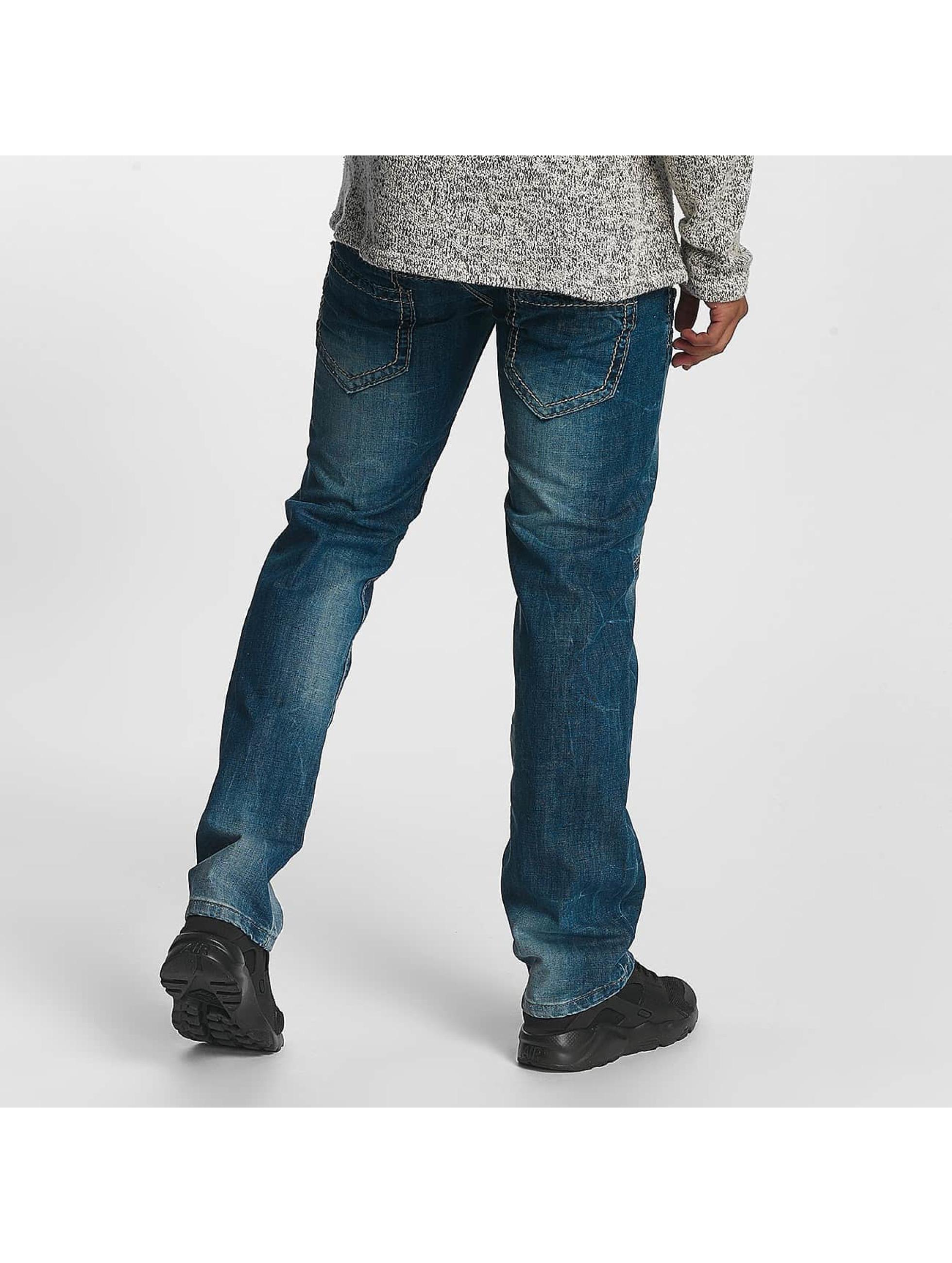 Leg Kings Straight Fit Jeans Mikhail blå