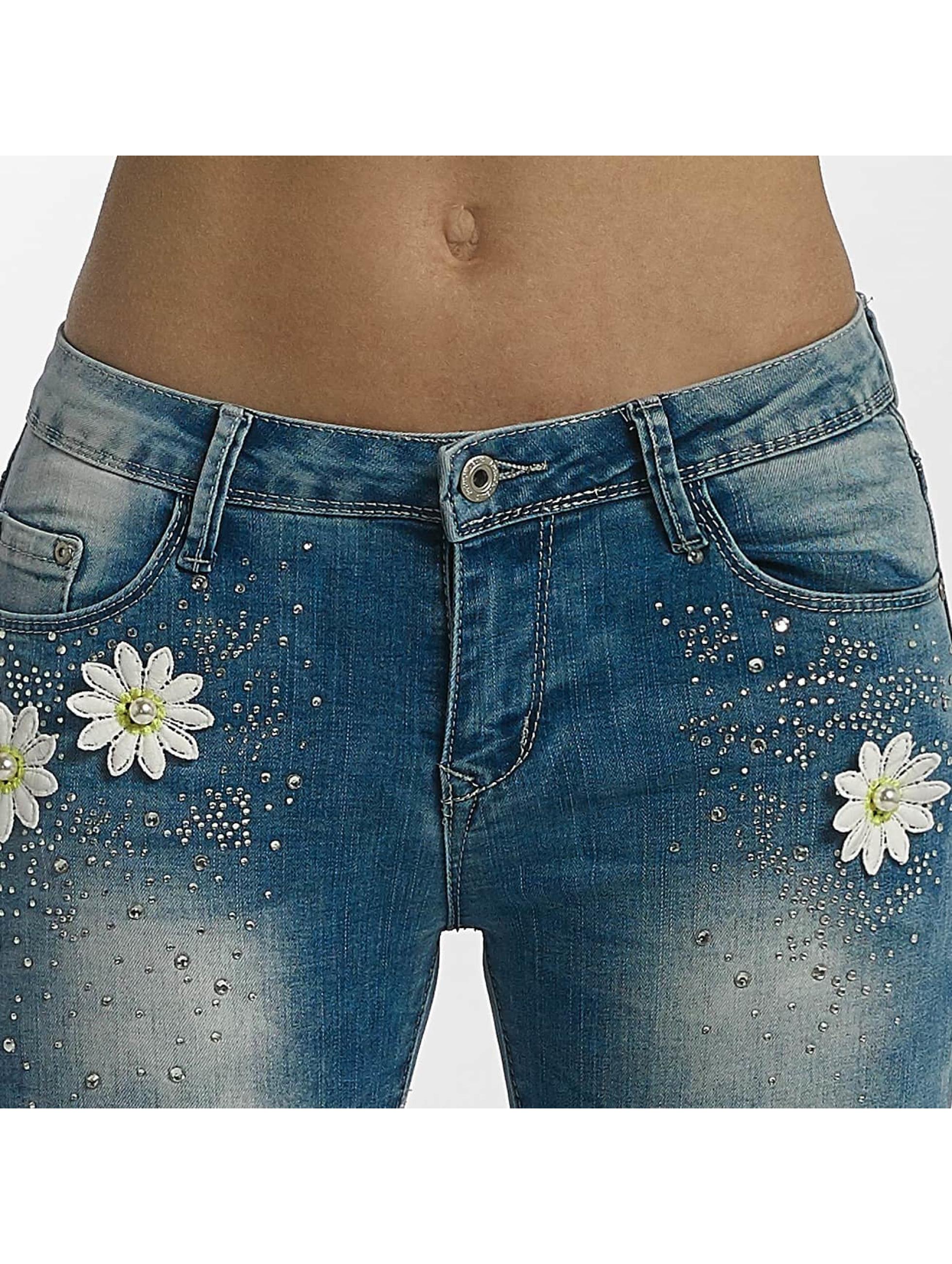 Leg Kings Tynne bukser Flower blå