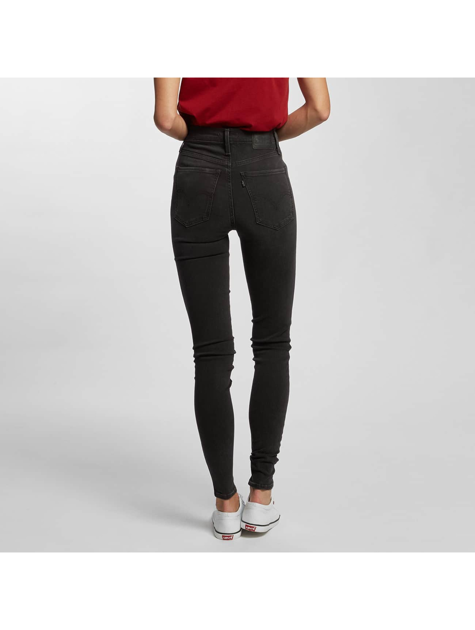 Levi's® High Waist Jeans Mile High Super Skinny grau