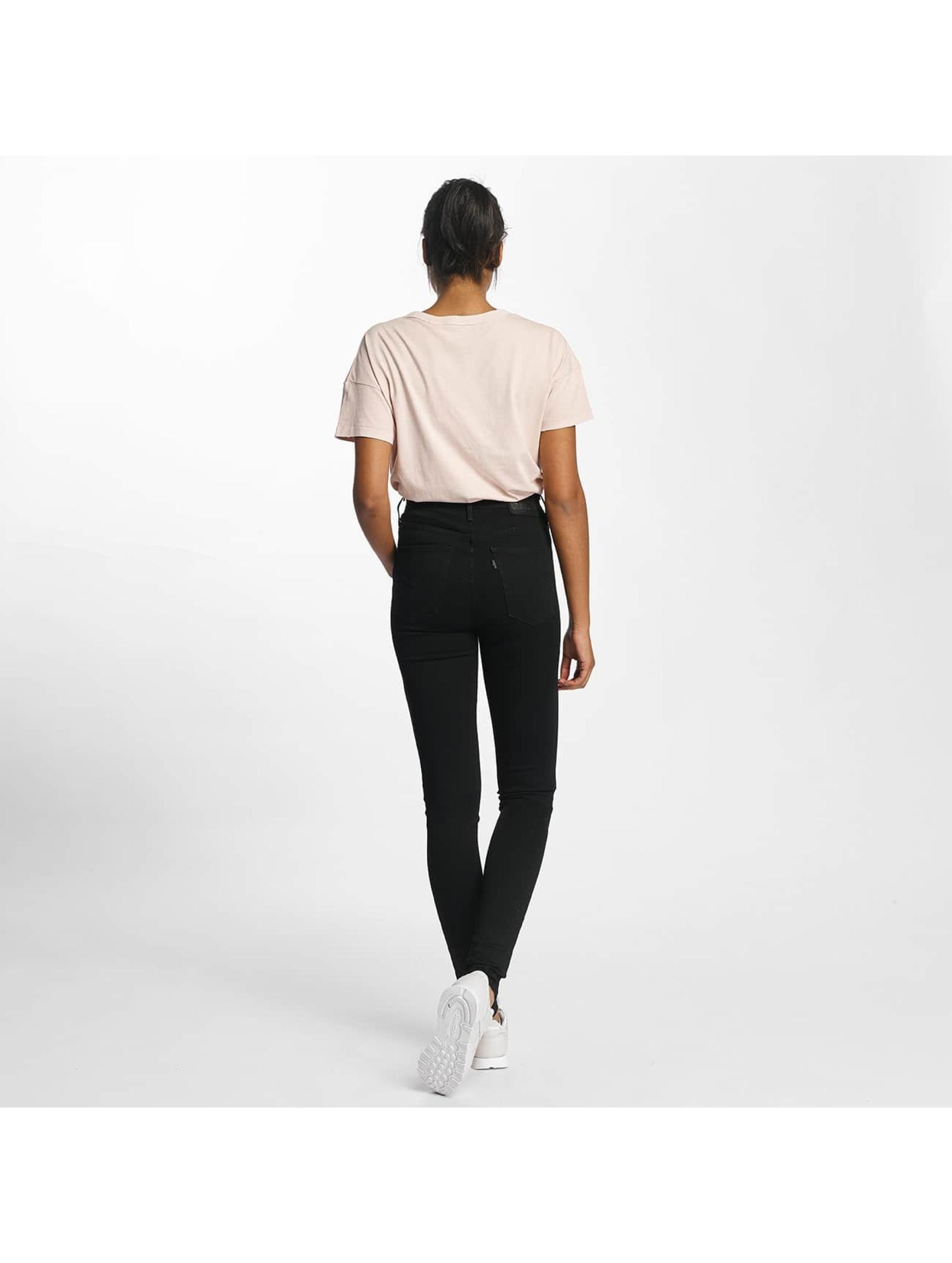 Levi's® High Waisted Jeans Mile High Super Skinny èierna