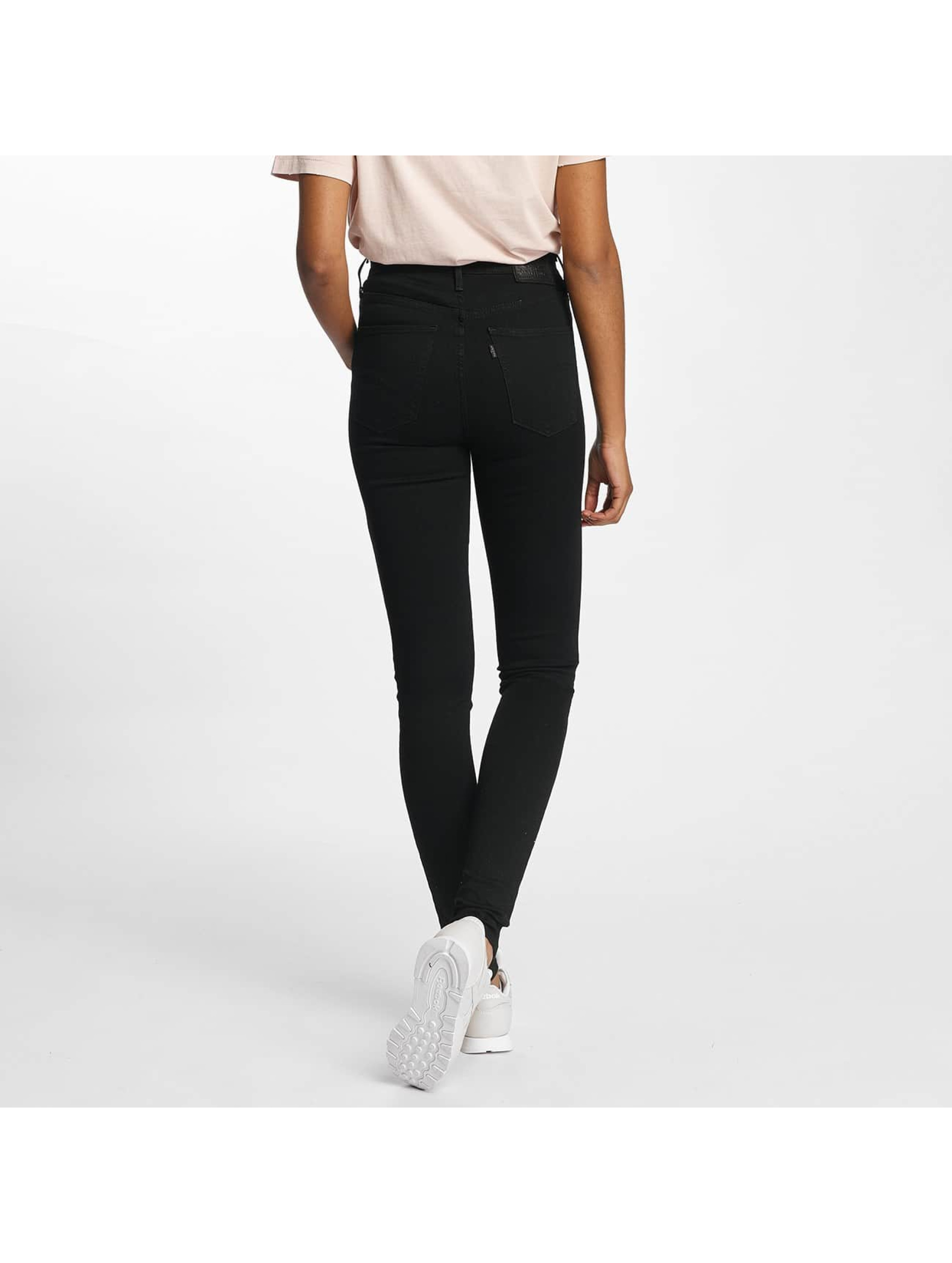 Levi's® High Waisted Jeans Mile High Super Skinny black