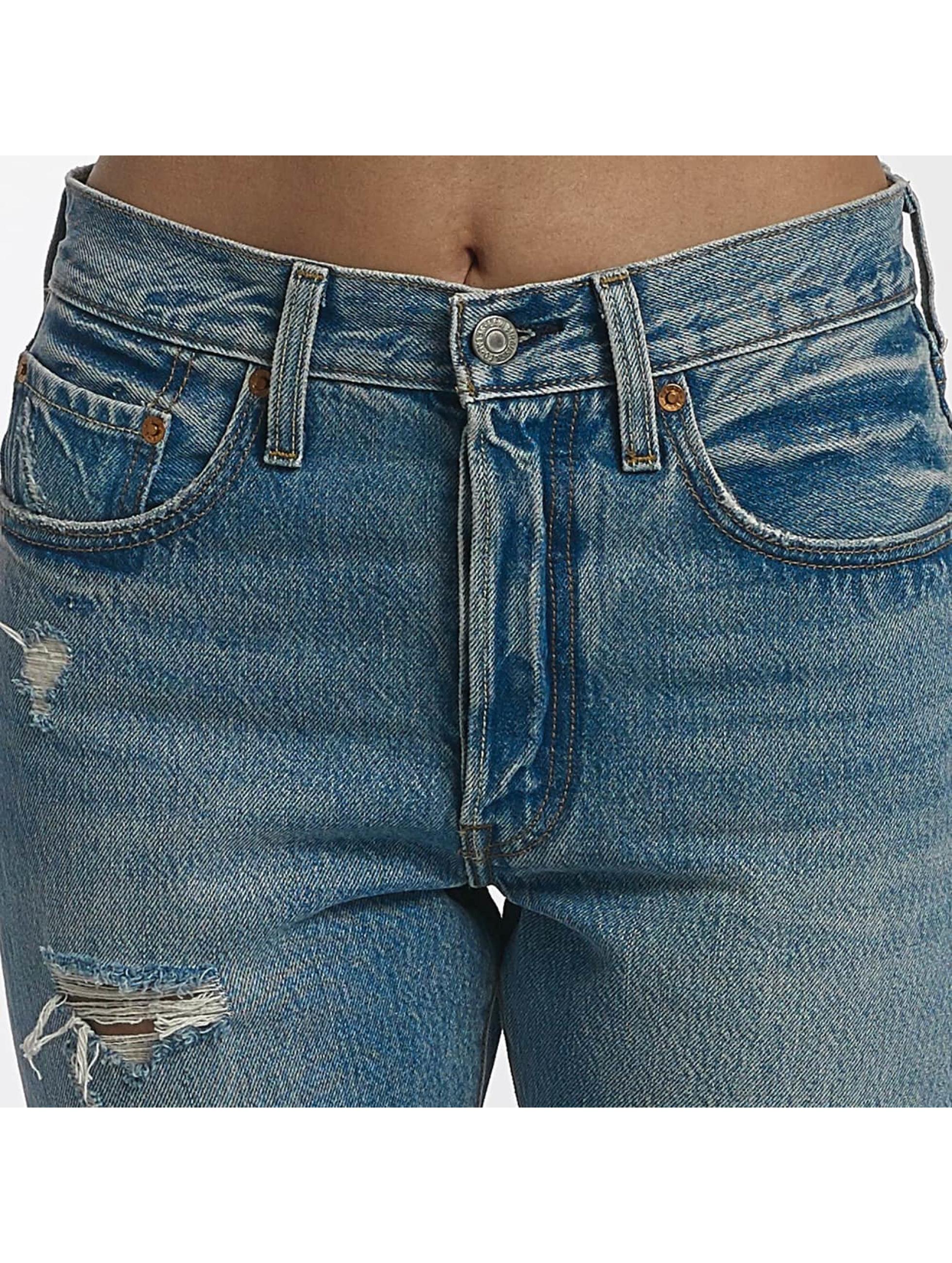 levi 39 s jeans skinny jeans 501 skinny in blauw 437633. Black Bedroom Furniture Sets. Home Design Ideas