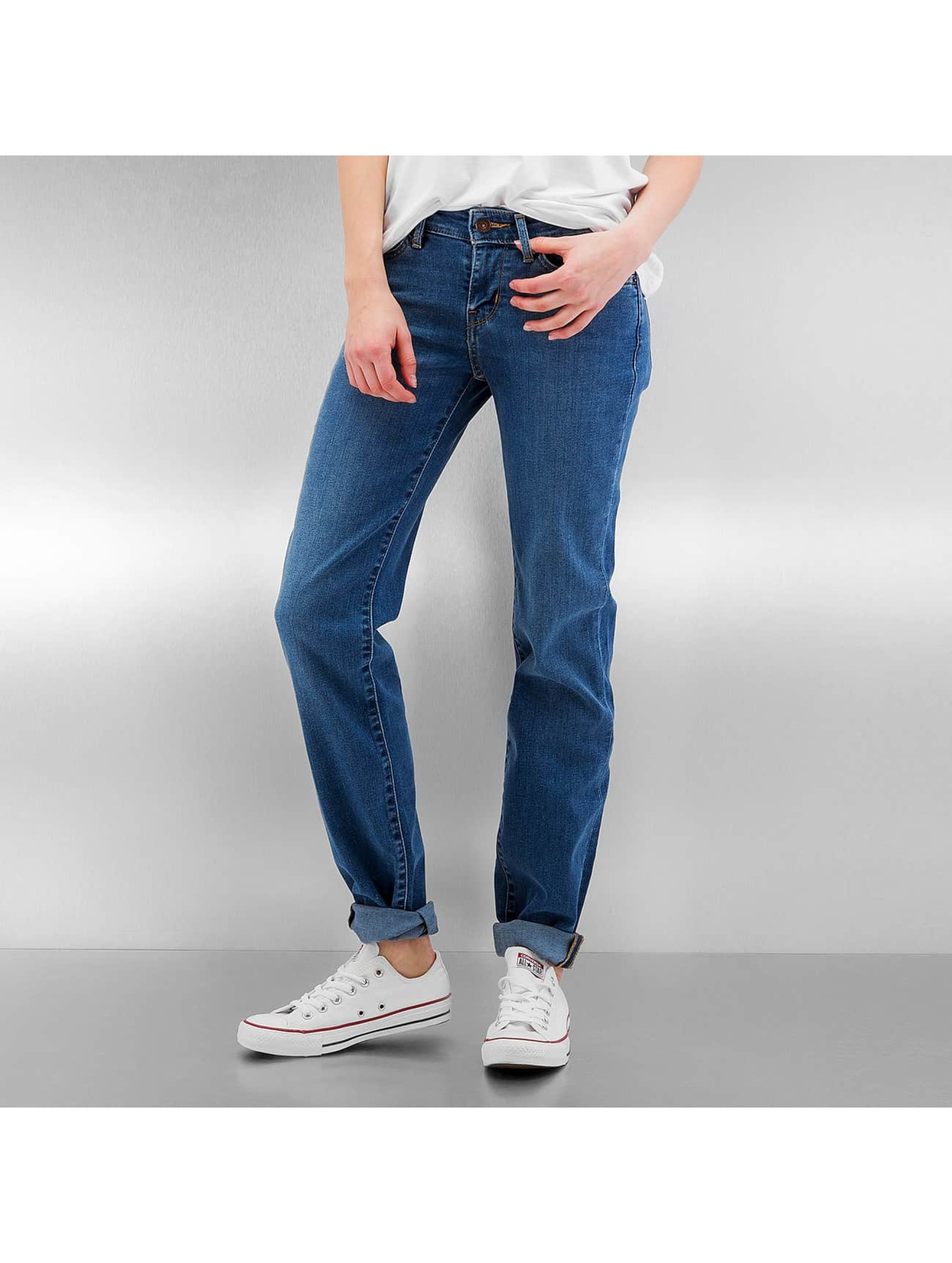 Straight Fit Jeans 714 in blau