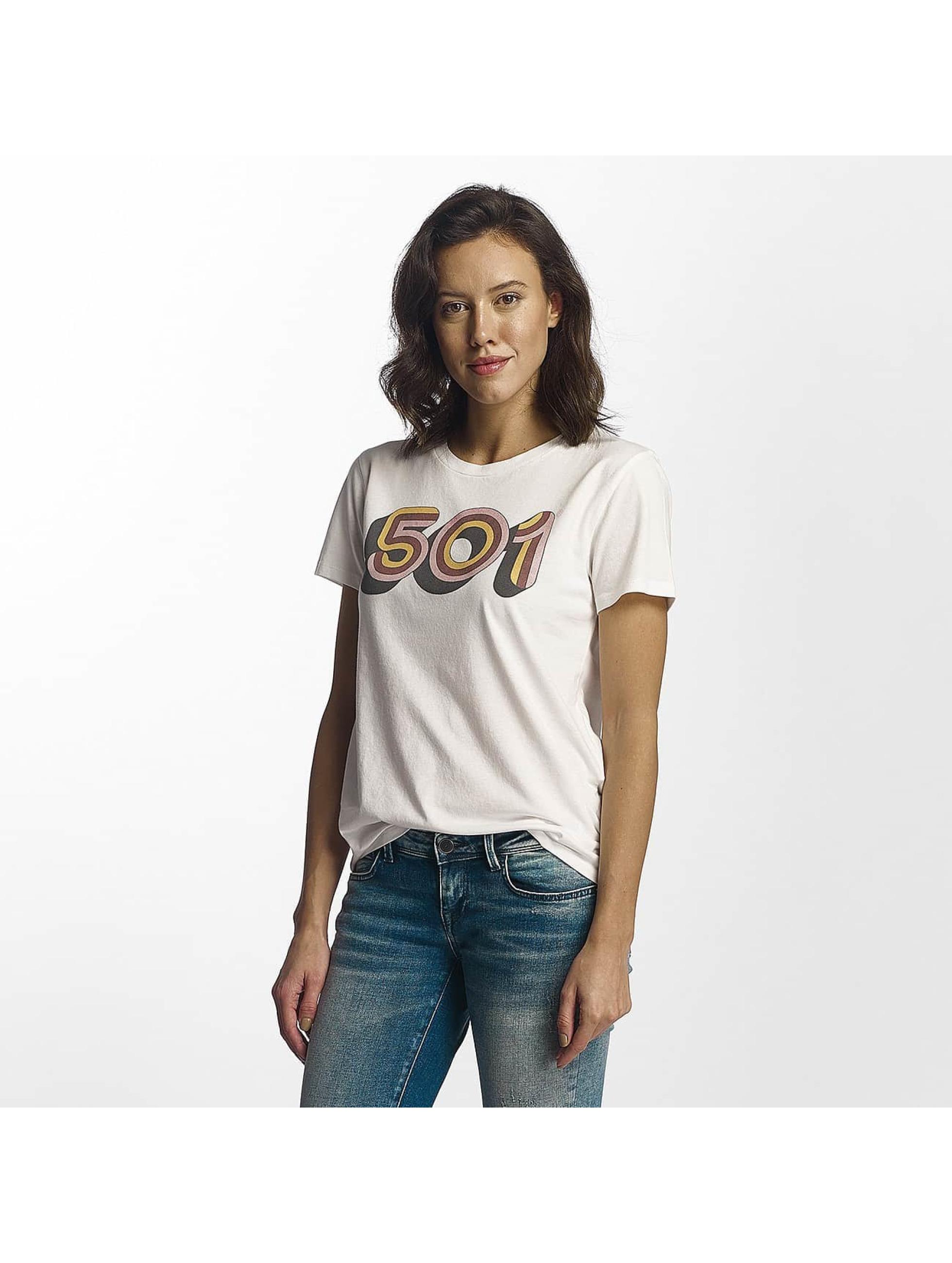 Levi's® T-Shirt Retro 501 blanc