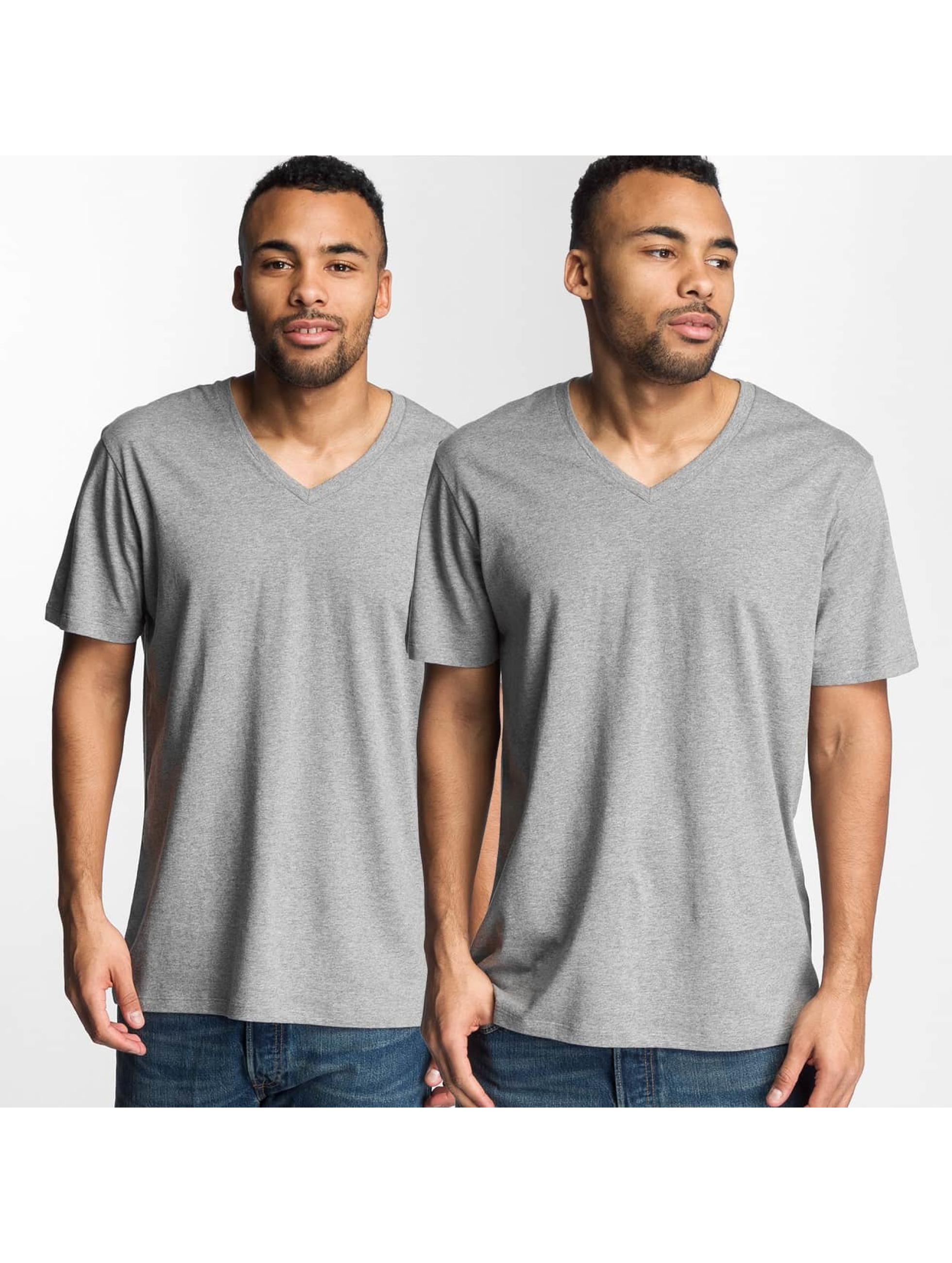Levi's® T-Shirt V-Neck grau