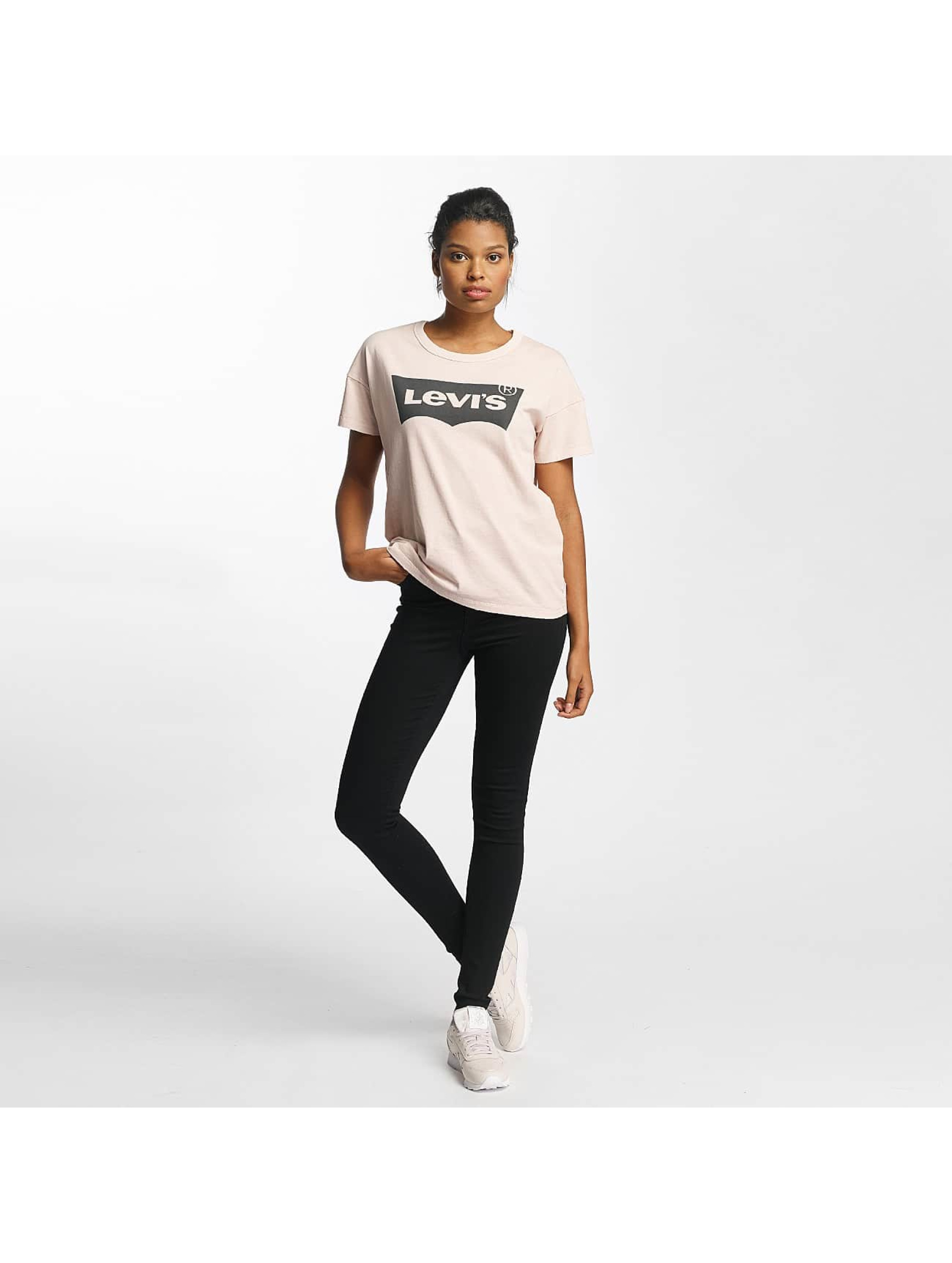 Levi's® T-Shirt The Authentic rosa