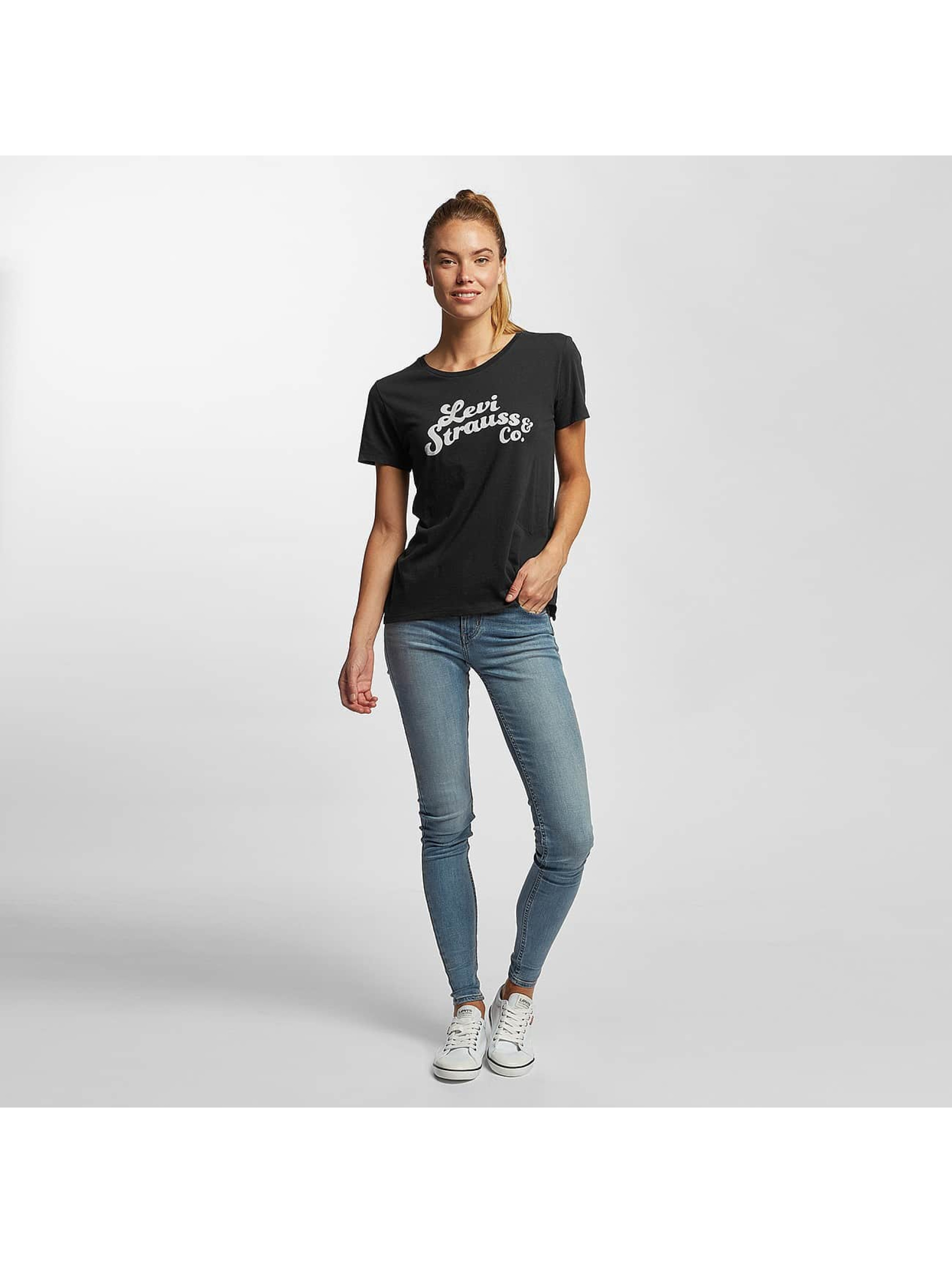 Levi's® T-Shirt Perfect Graphic Levi Strauss schwarz