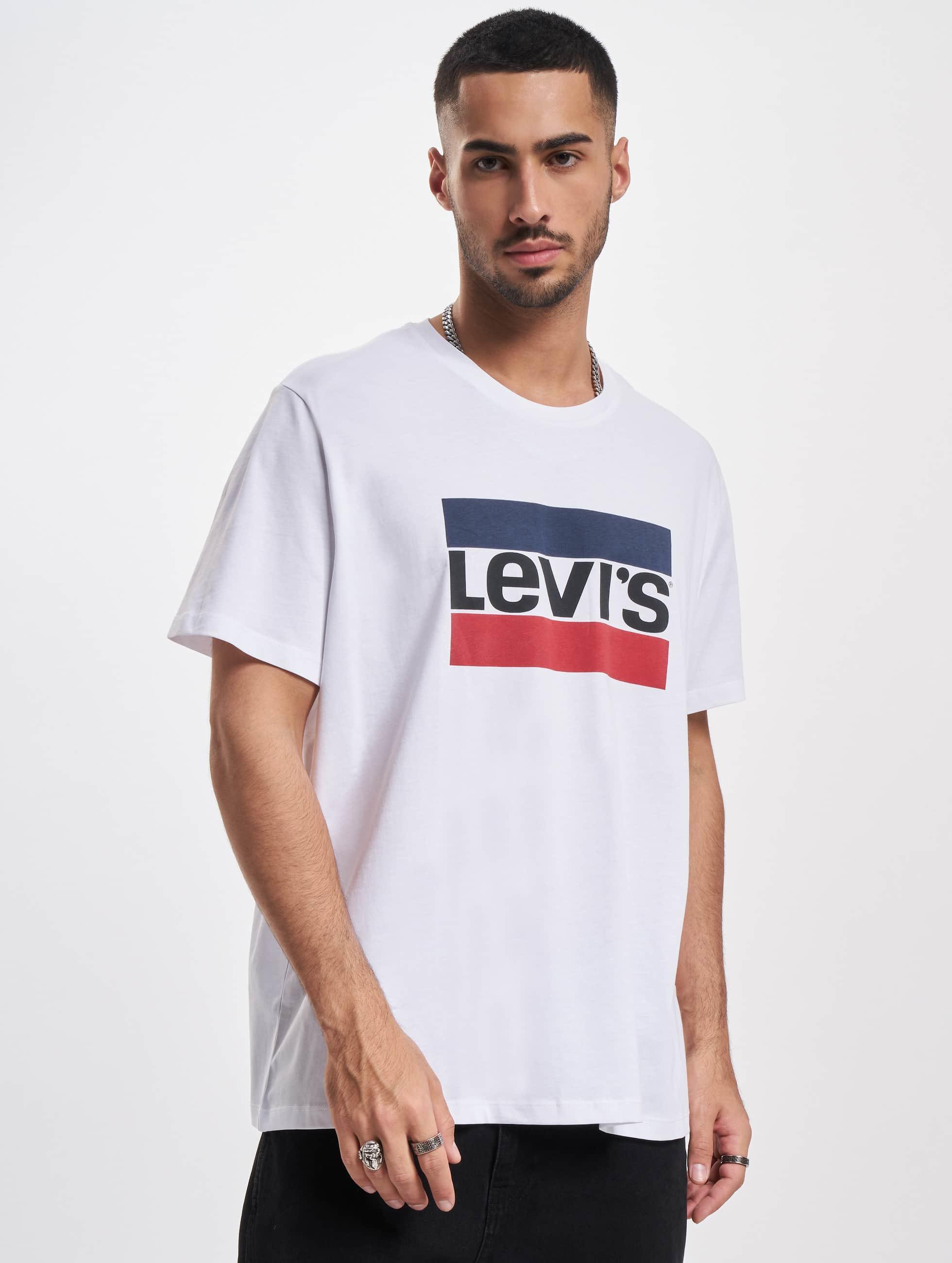 Levi's® T-Shirt Sportswear Logo Graphic weiß