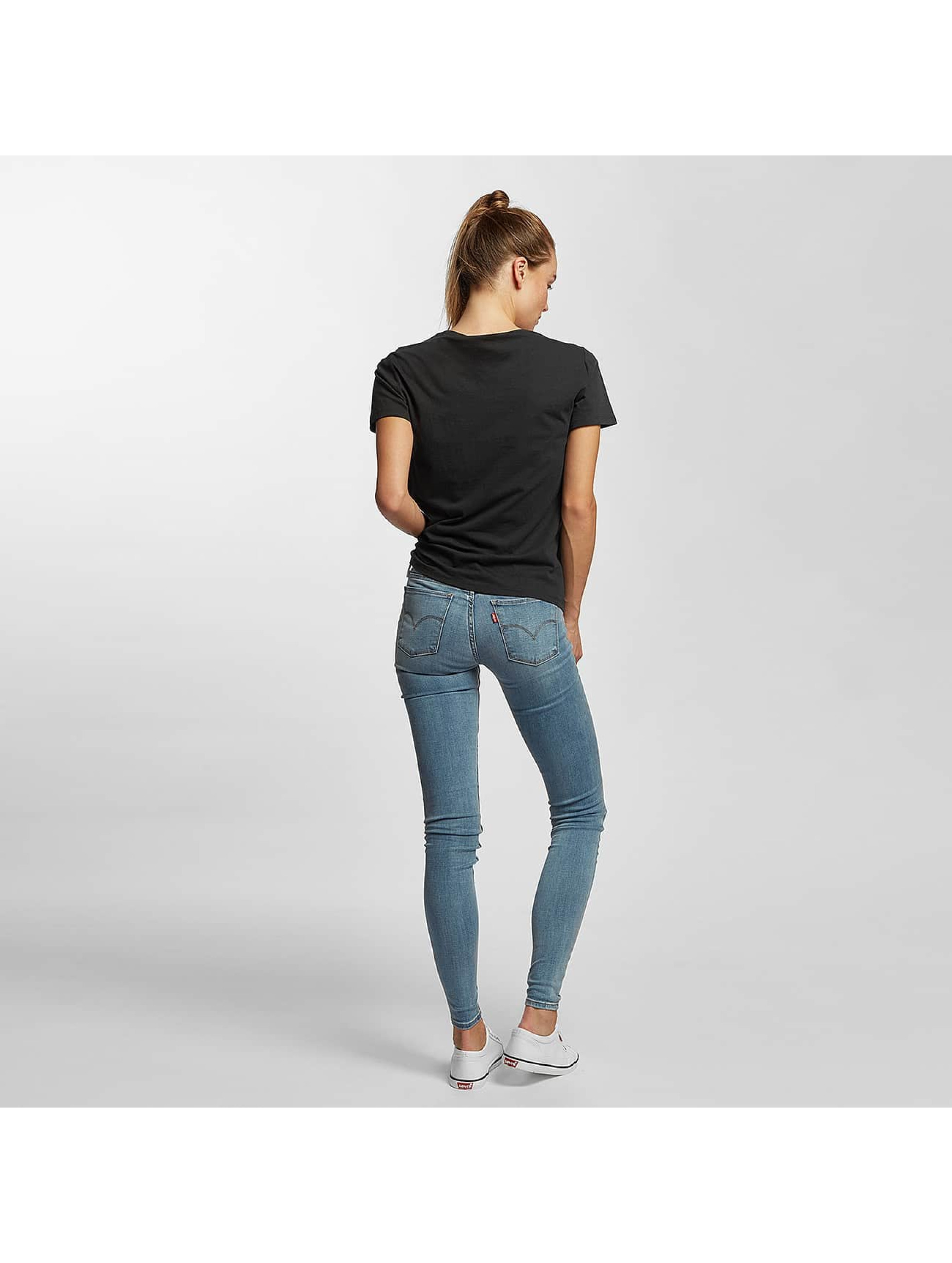Levi's® Tričká Perfect Graphic Levi Strauss èierna