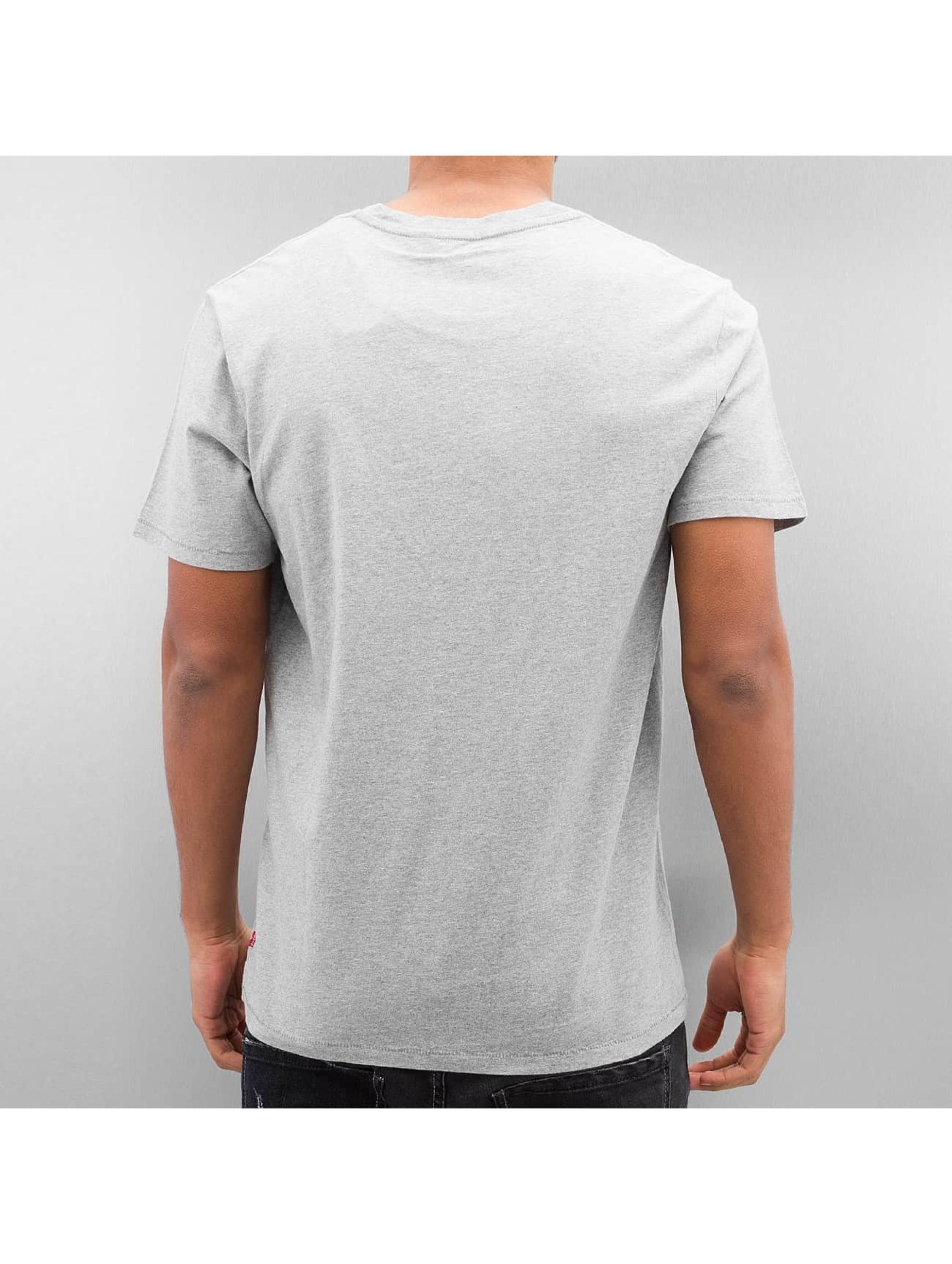 Levi's® Tričká Graphic Set-In šedá