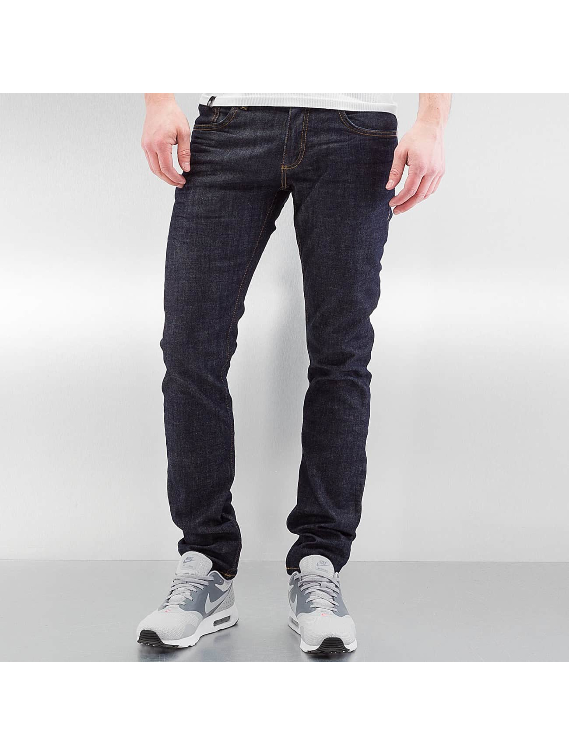 Lindbergh Rovné Tapered Stretch Fit indigo