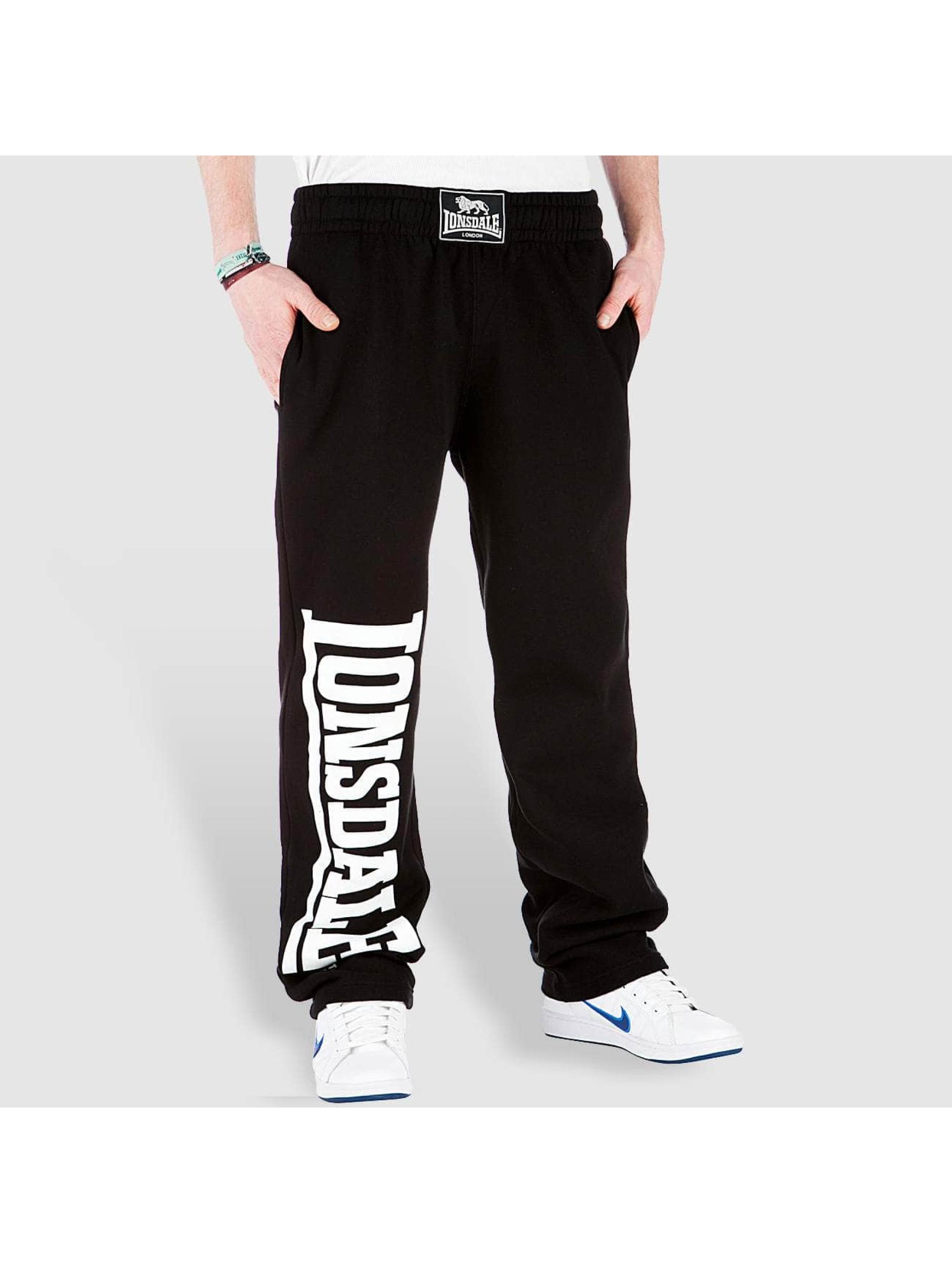 Lonsdale London Спортивные брюки Rafty черный