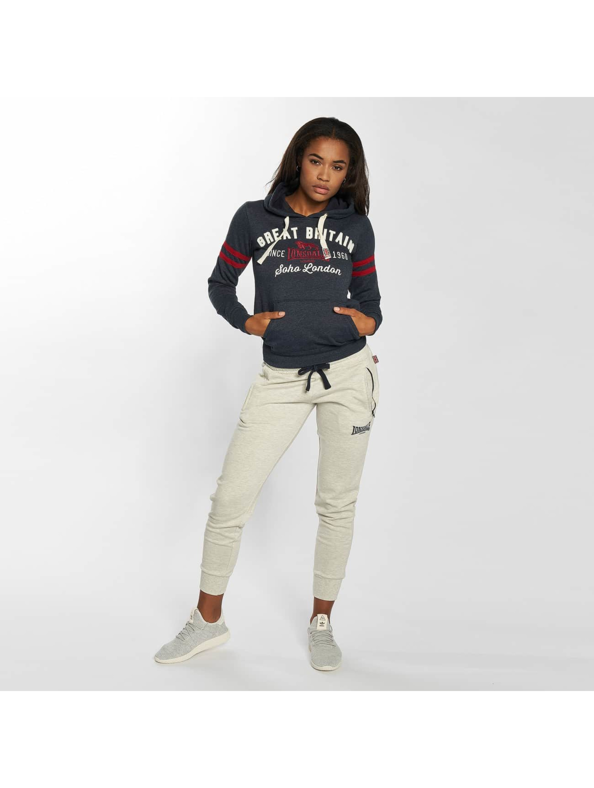 Lonsdale London Hoodie London Epworth blå
