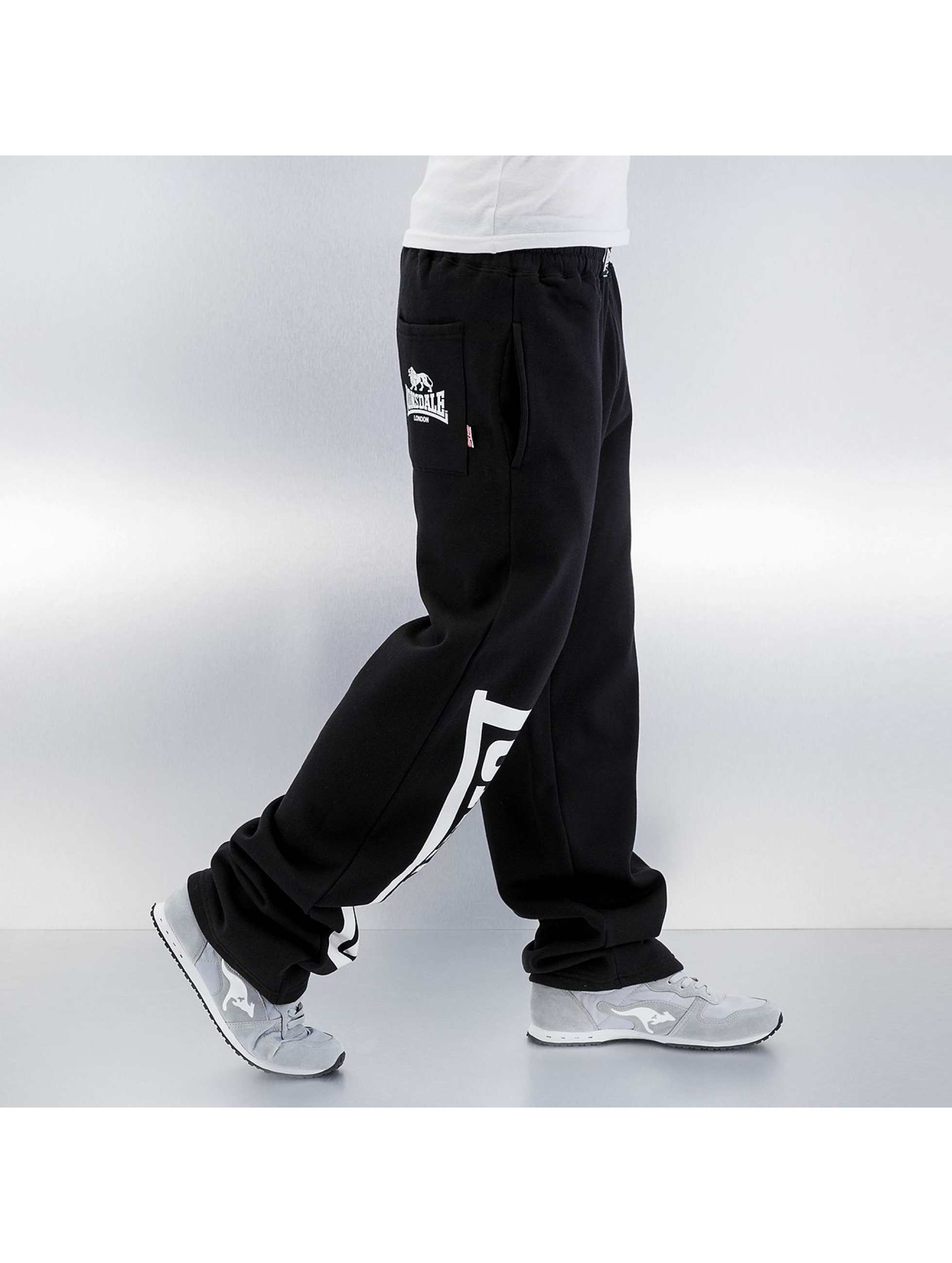 Lonsdale London joggingbroek Rafty zwart