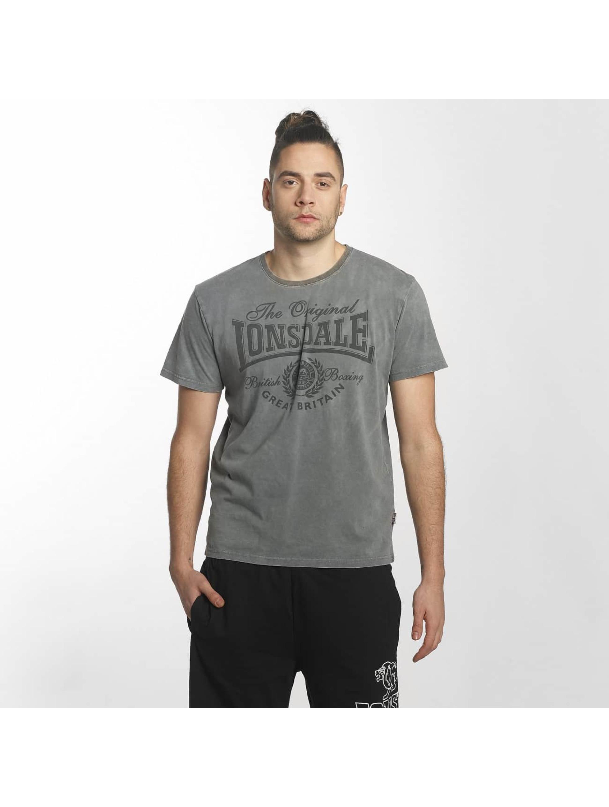 Lonsdale London T-paidat Wendover Regular Fit harmaa