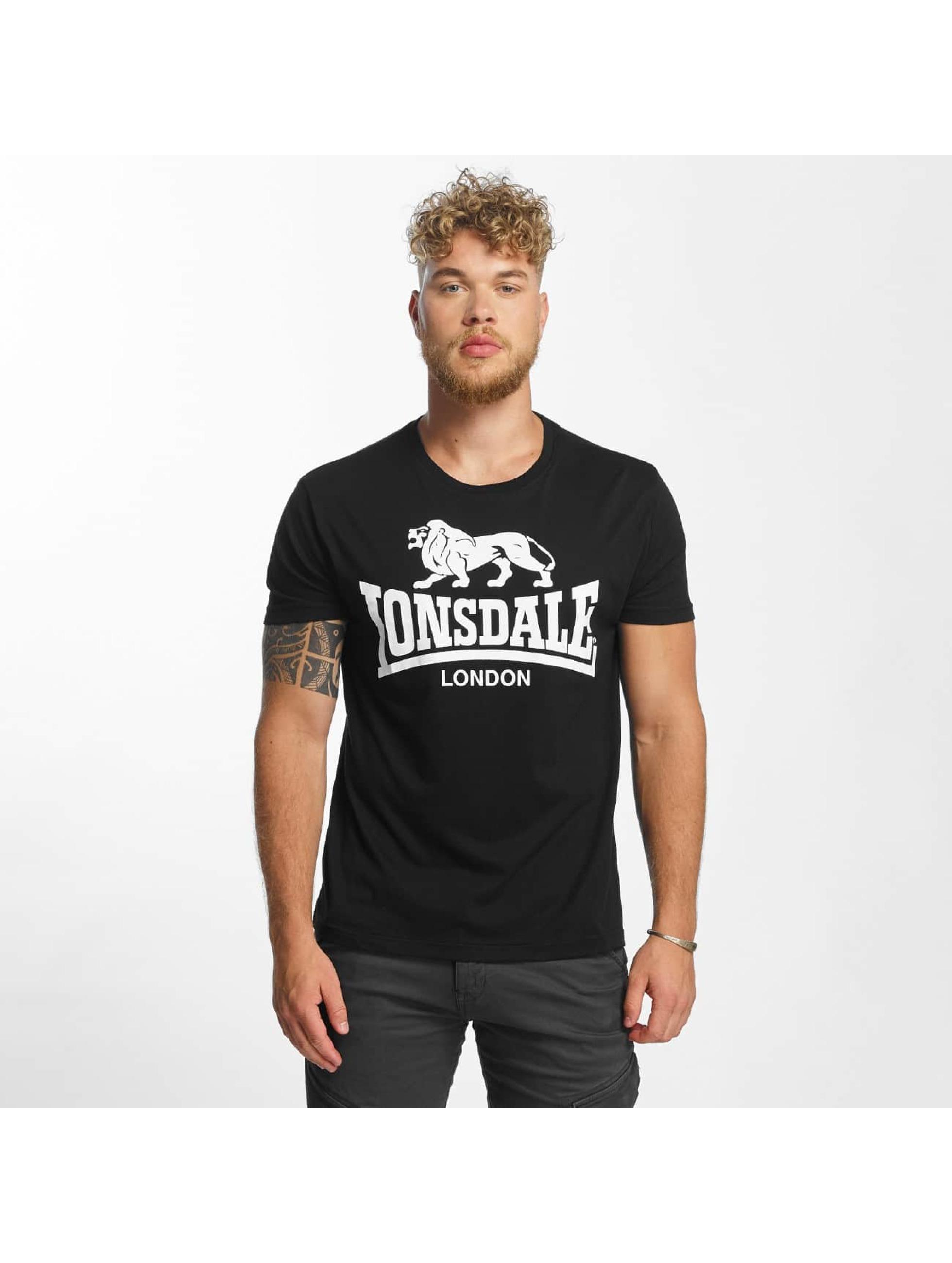 Lonsdale London T-paidat Caol musta