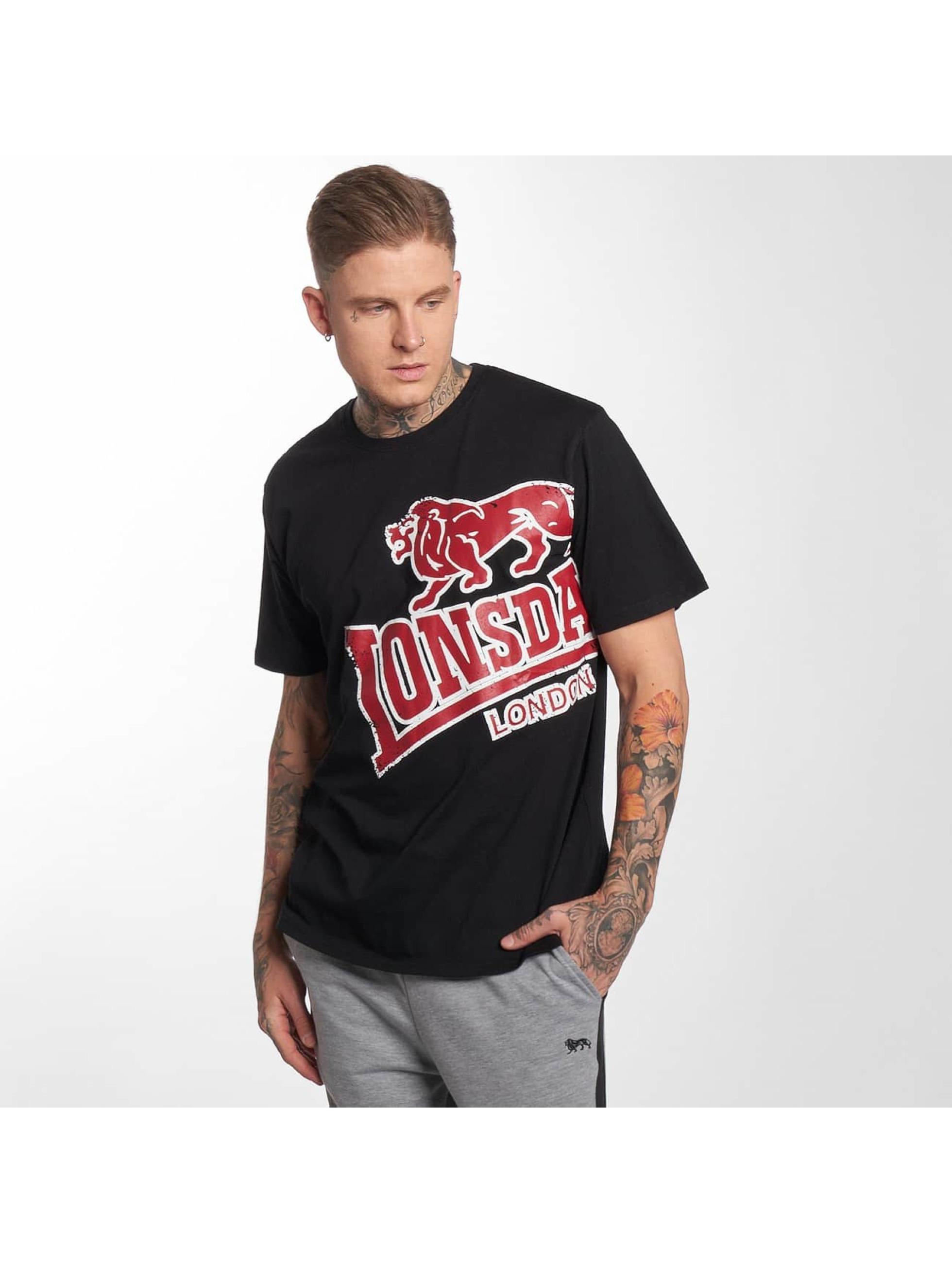 Lonsdale London T-Shirt Plush black