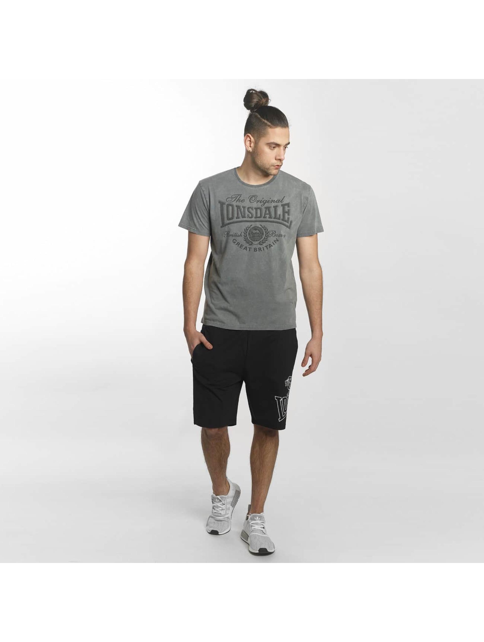 Lonsdale London T-Shirt Wendover Regular Fit grey